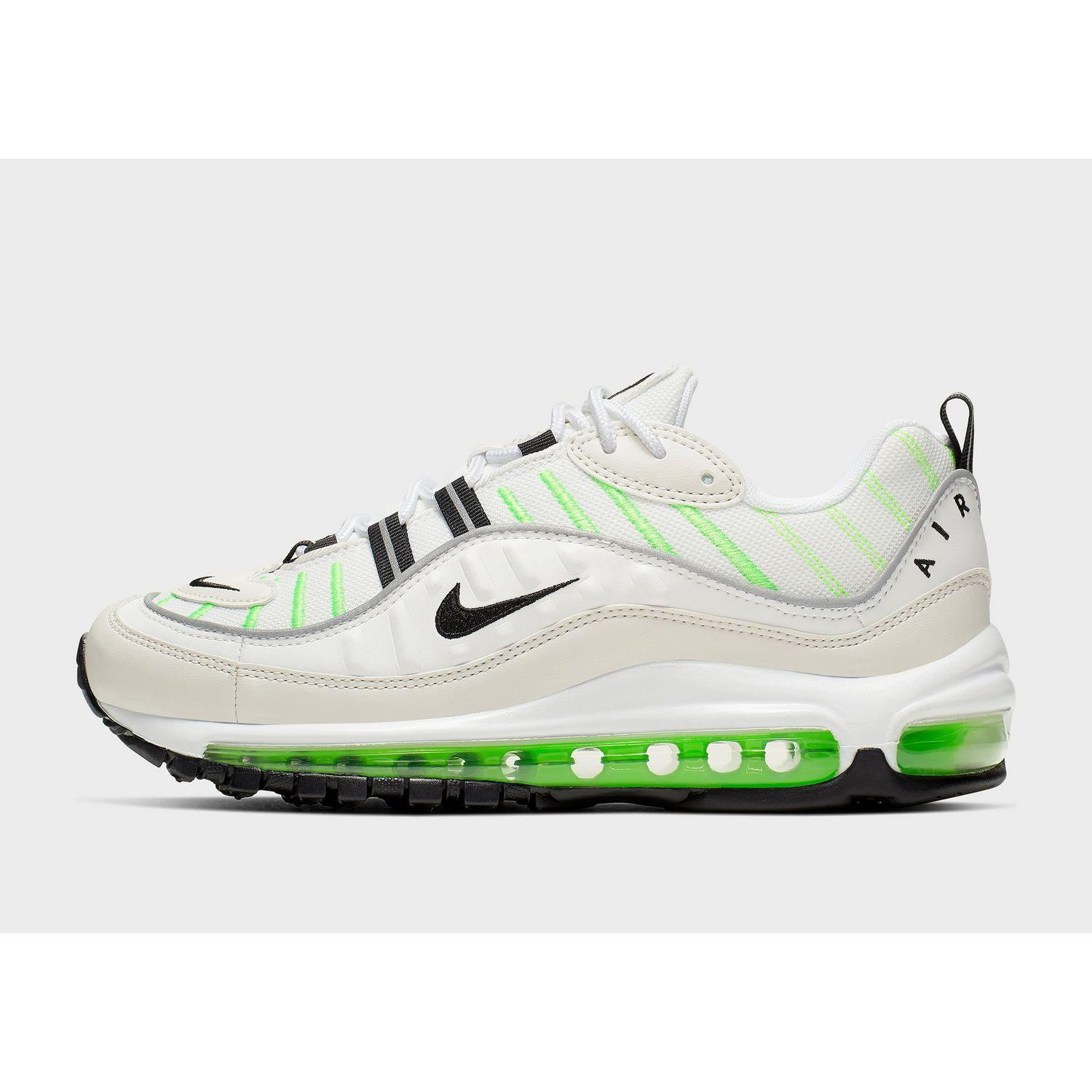 best website 1888e 67f05 Women's White Air Max 98 Shoe