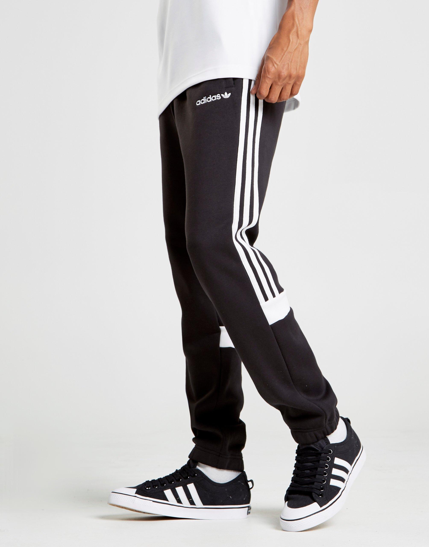 851fbae94d6c9c Gallery. Adidas Originals Track Pants Slim Black Itasca Fit Open Hem. Adidas  Originals Track ...
