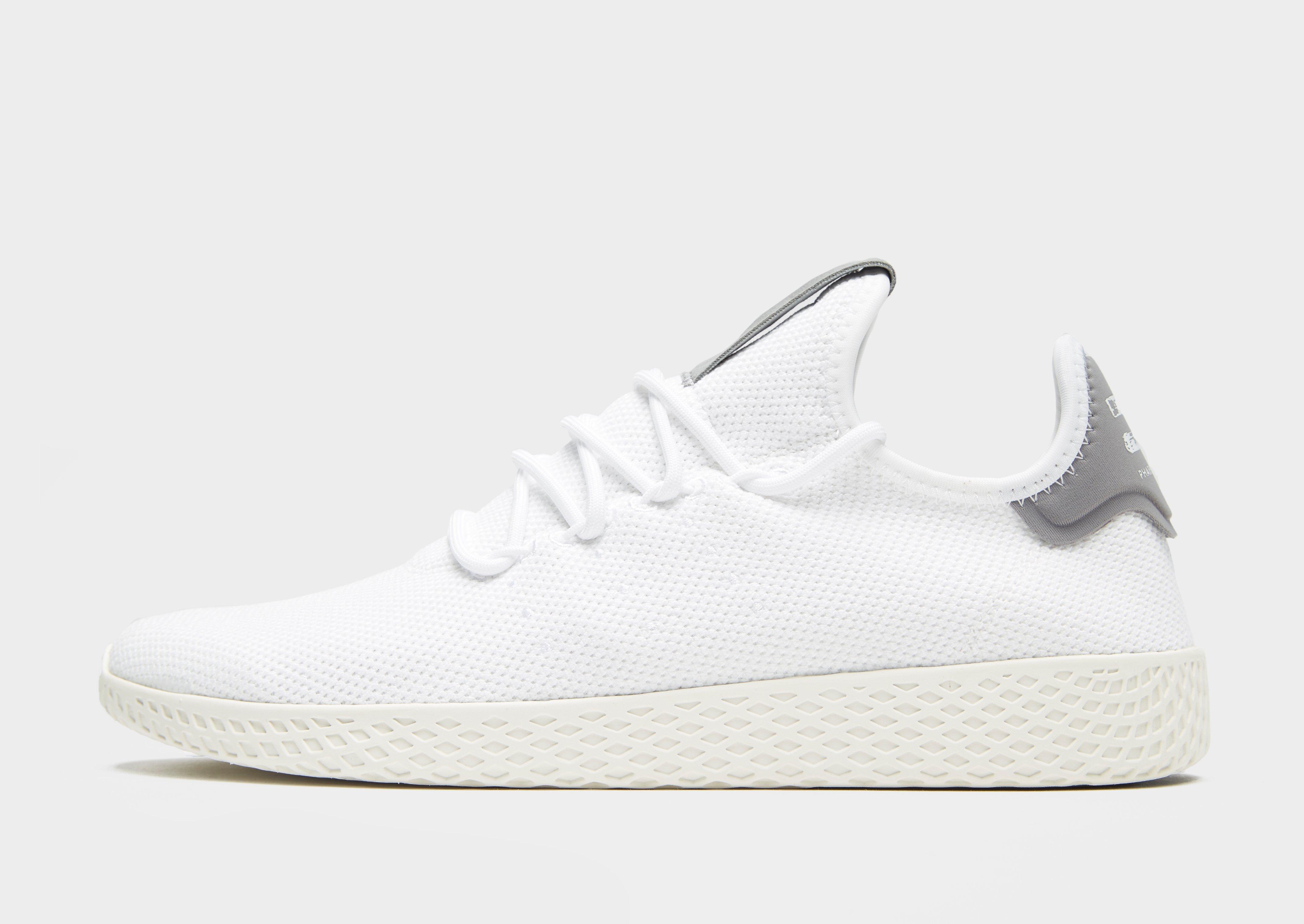 f0c715ea183d5 adidas Originals X Pharrell Williams Tennis Hu in White for Men - Lyst