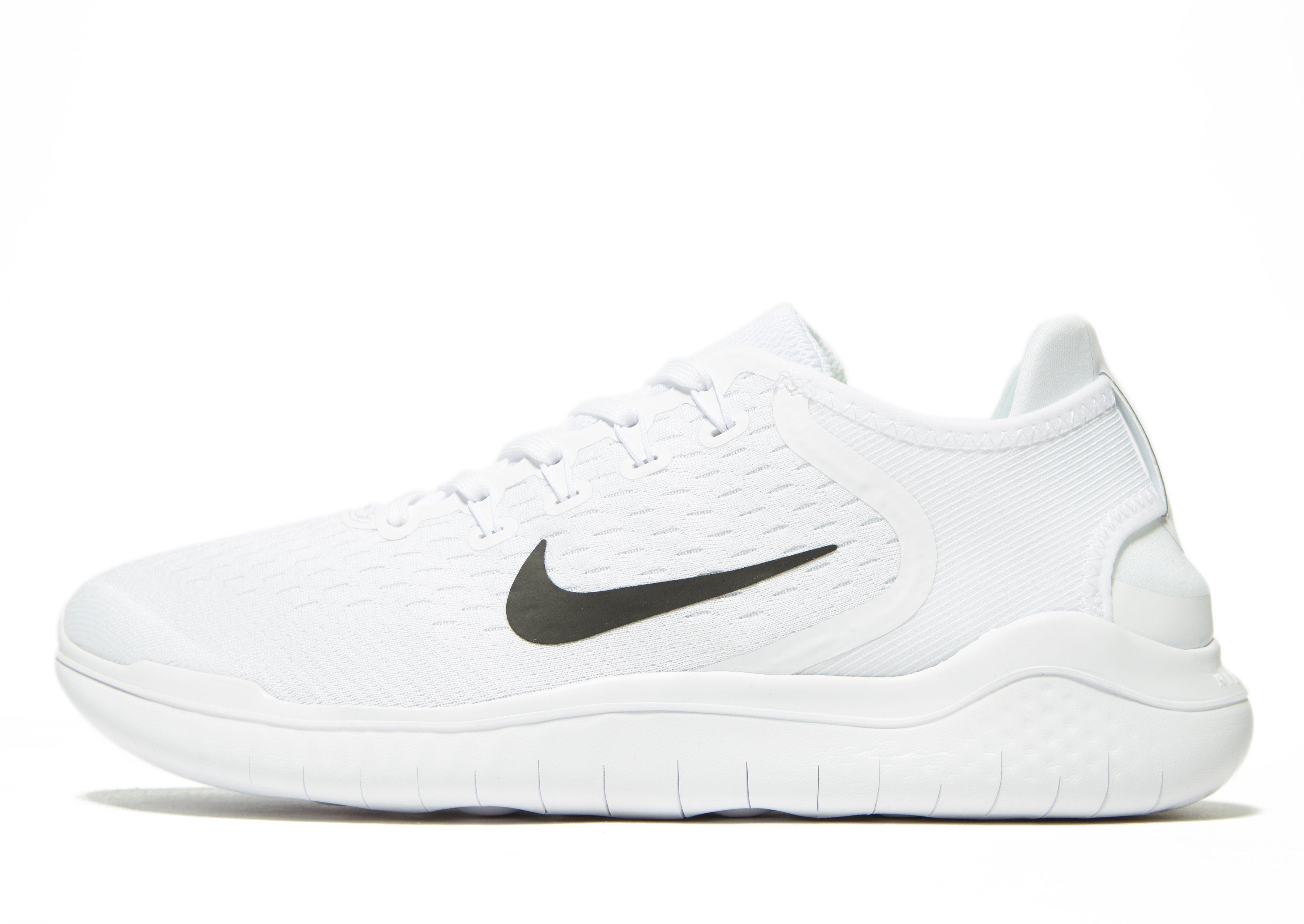 9ebd6e6fc174f Nike Free Rn 2018 in White for Men - Lyst