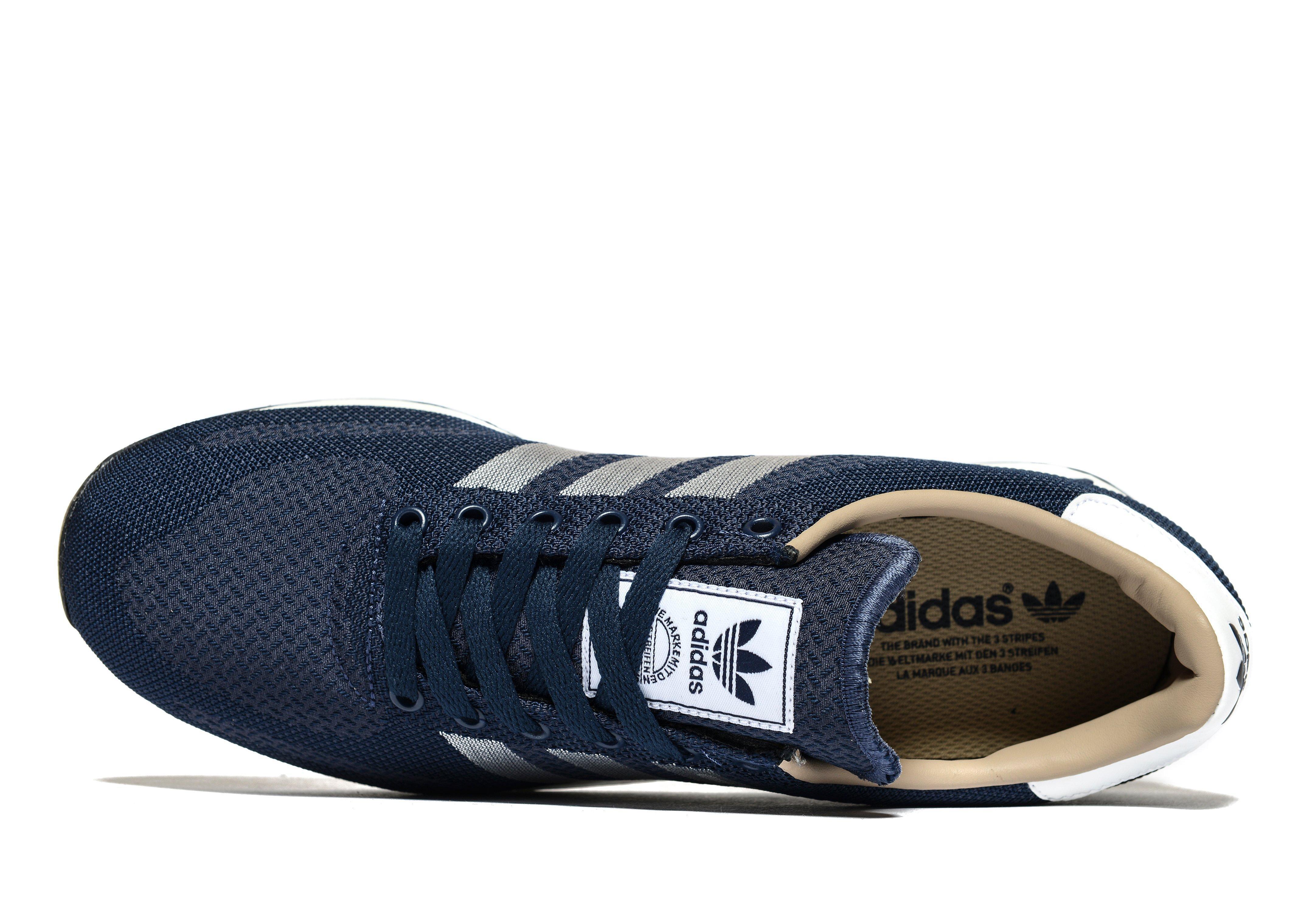 sale retailer d58a8 686d7 adidas Originals La Trainer Weave in Blue for Men - Lyst