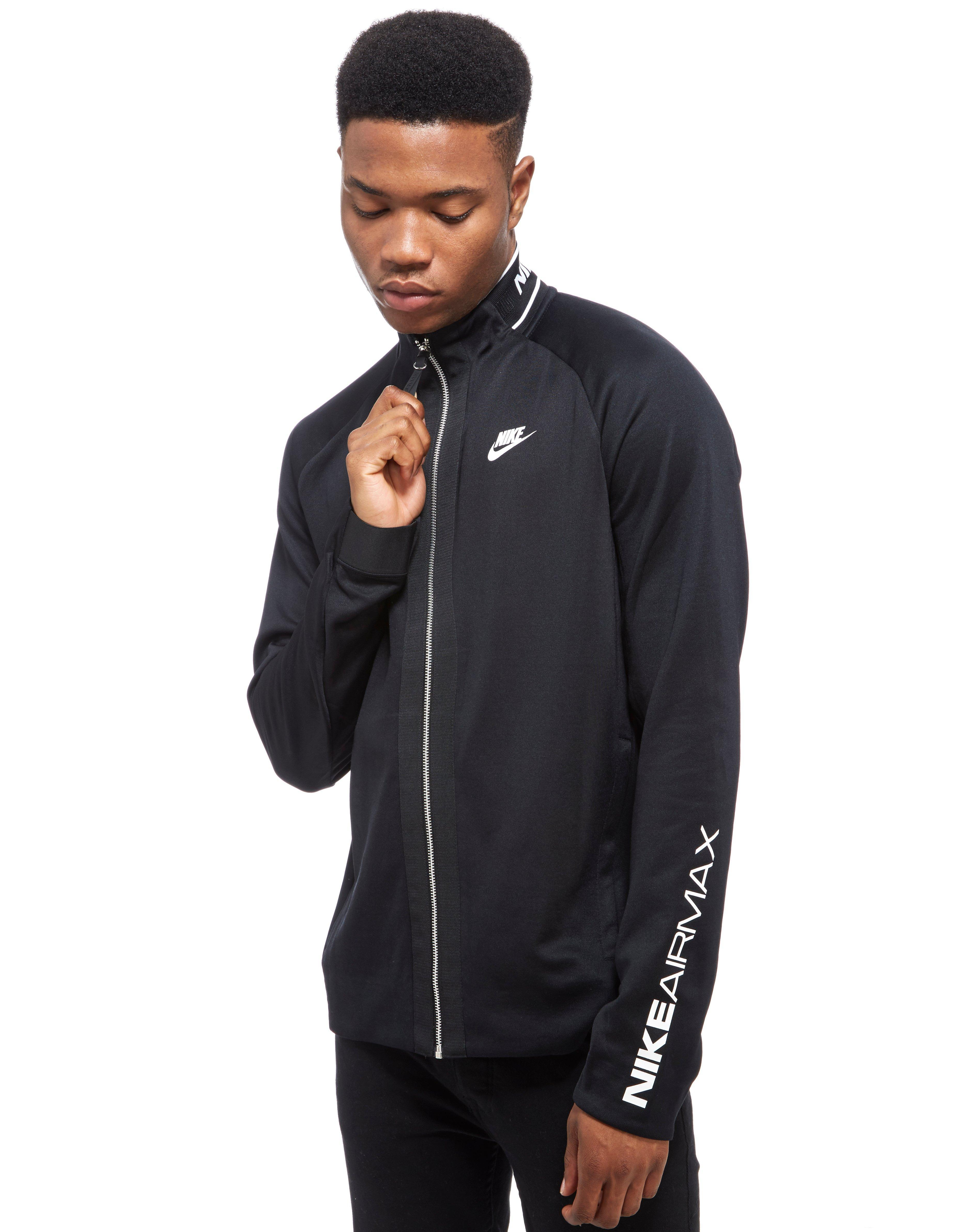 Black Men Poly Nike Top Lyst Max Track For In Yby67fgv