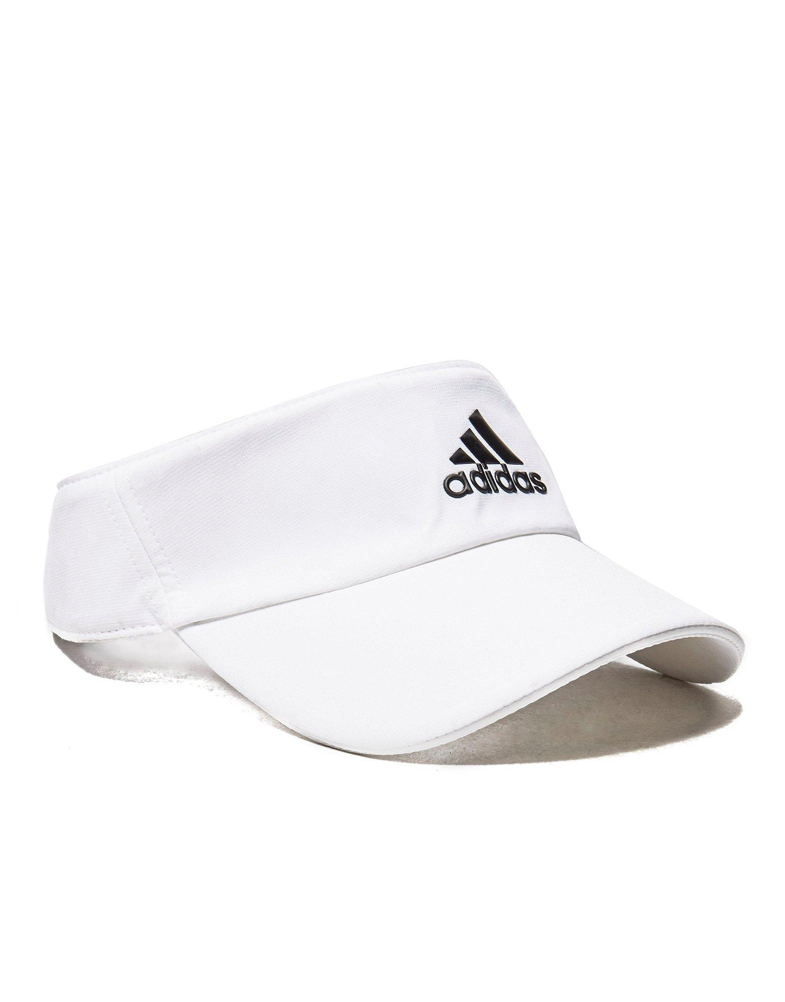 857968633f0 Lyst - Adidas Climalite Visor in White for Men