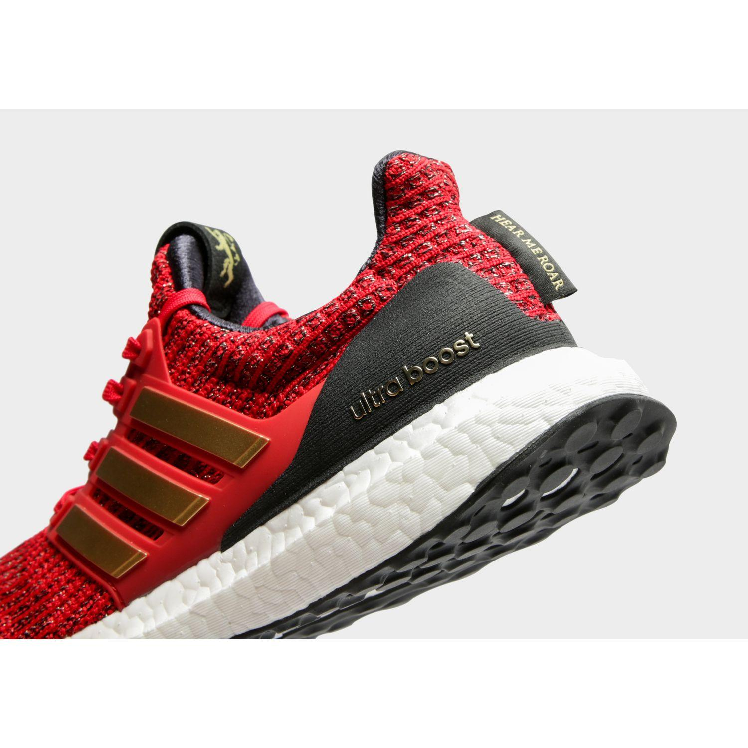 fca2d016fee Lyst - adidas Ultraboost X Game Of Thrones Shoes in Red for Men