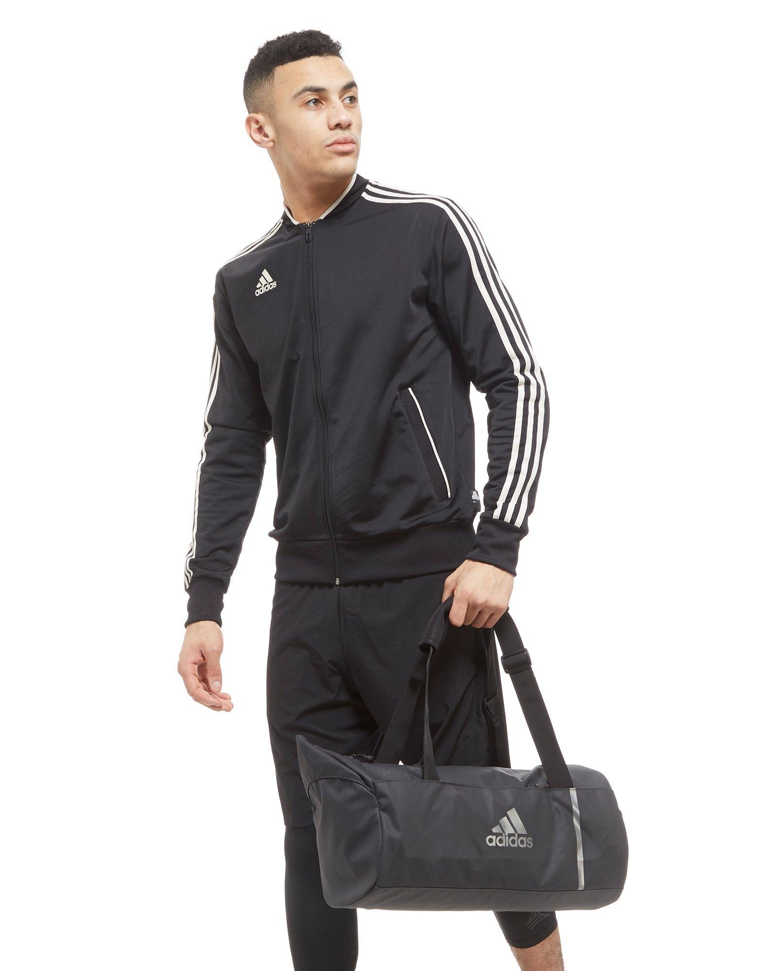 aa73938c32 adidas Convertible Training Duffle Bag Small in Gray for Men - Lyst