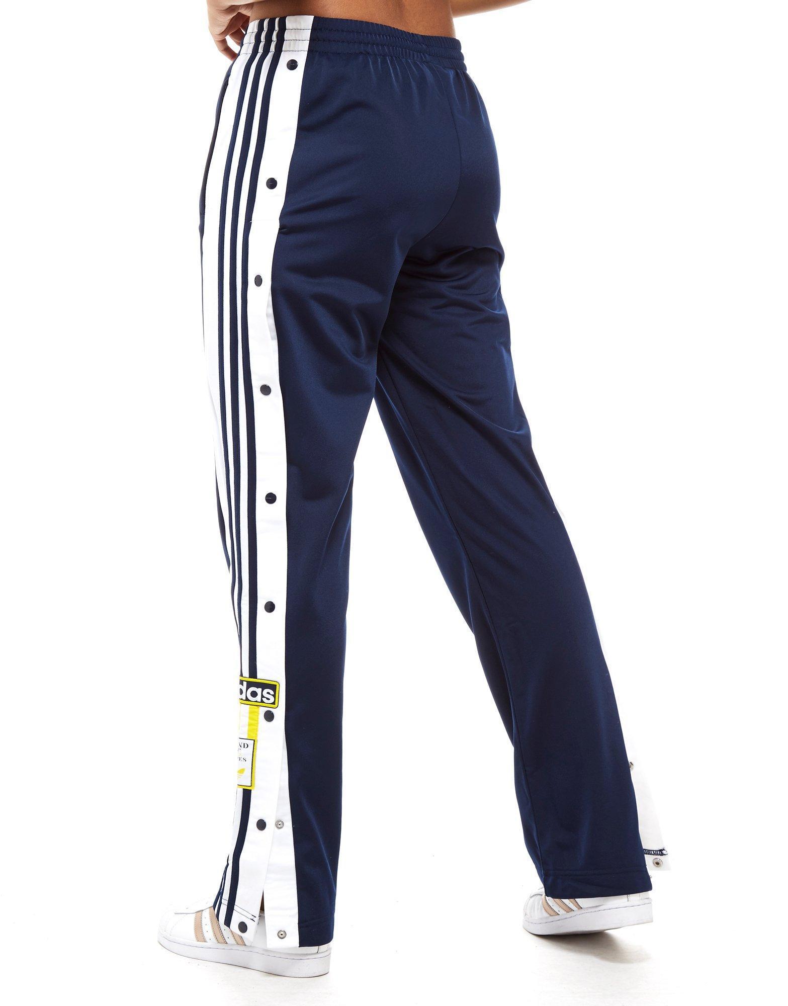 huge discount 066cc 6c756 Lyst - adidas Originals Adibreak Popper Pants in Blue
