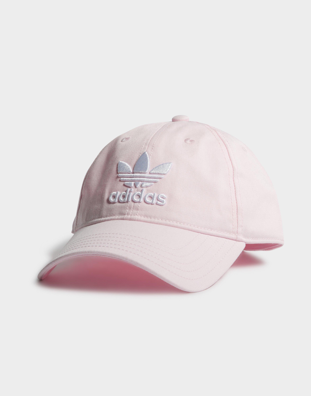 20693b5bfba Adidas - Pink Trefoil Classic Cap - Lyst. View fullscreen