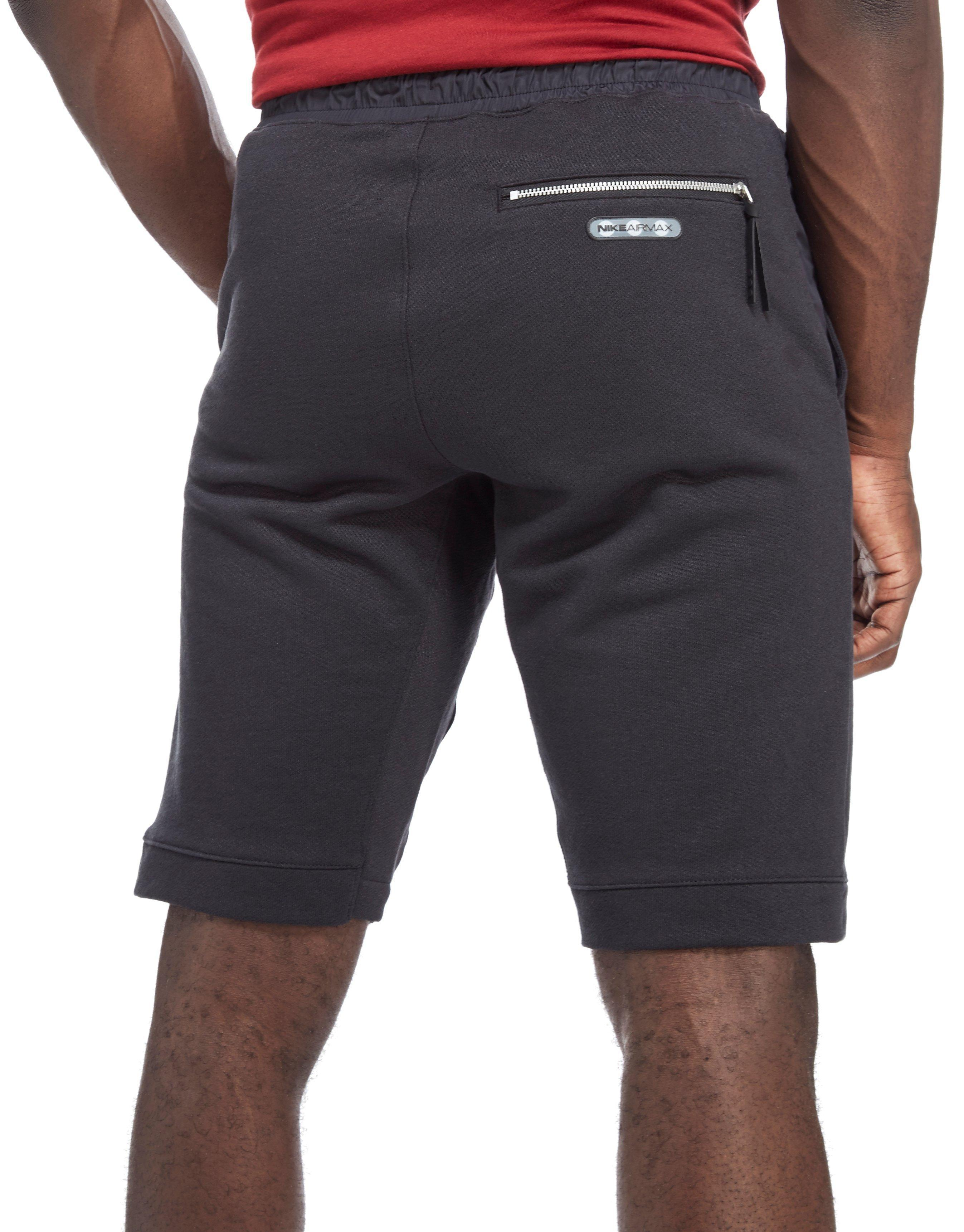 Lyst - Nike Air Max Fleece Shorts in Black for Men