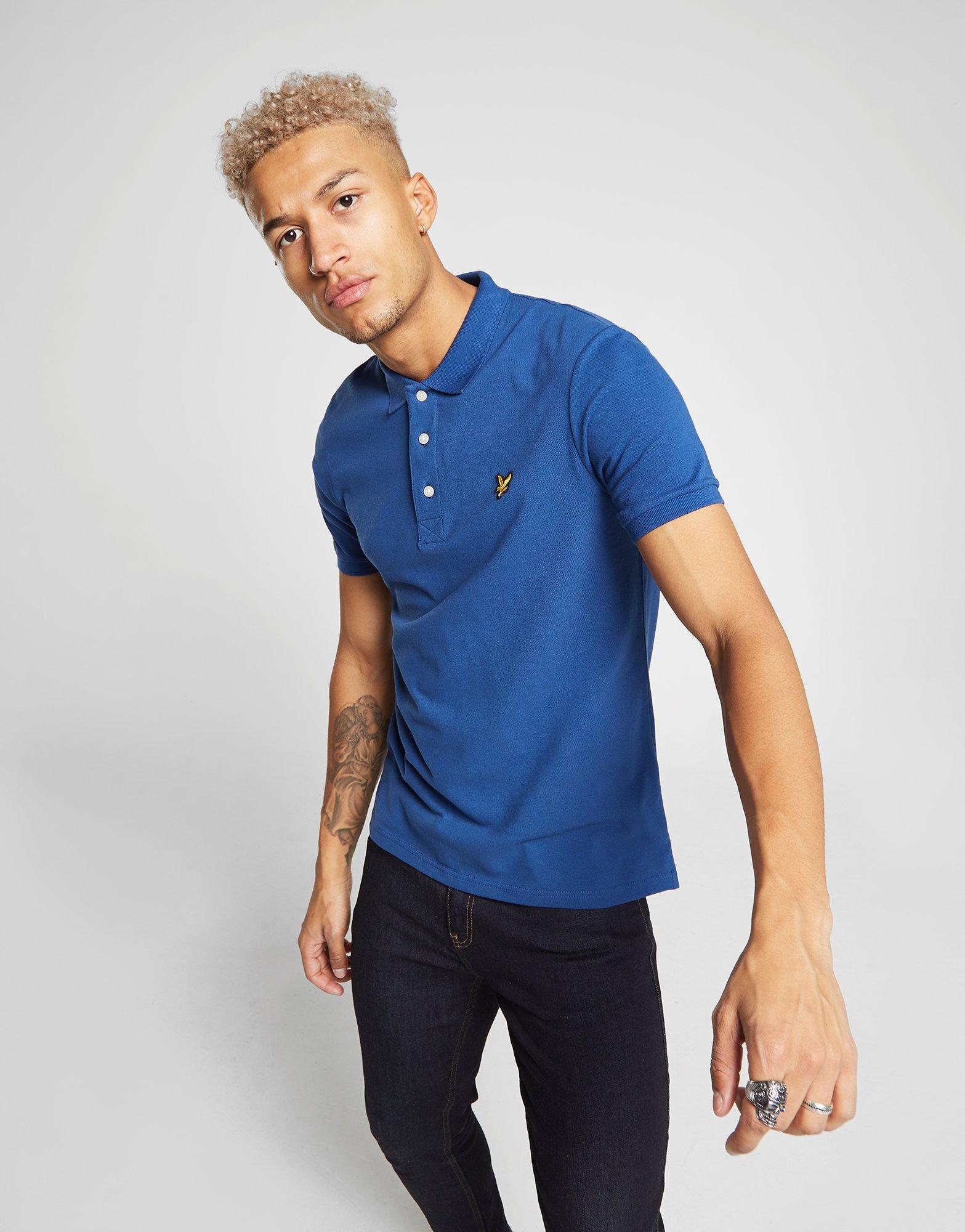 fad01d22546 Lyle   Scott Core Polo Shirt in Blue for Men - Lyst