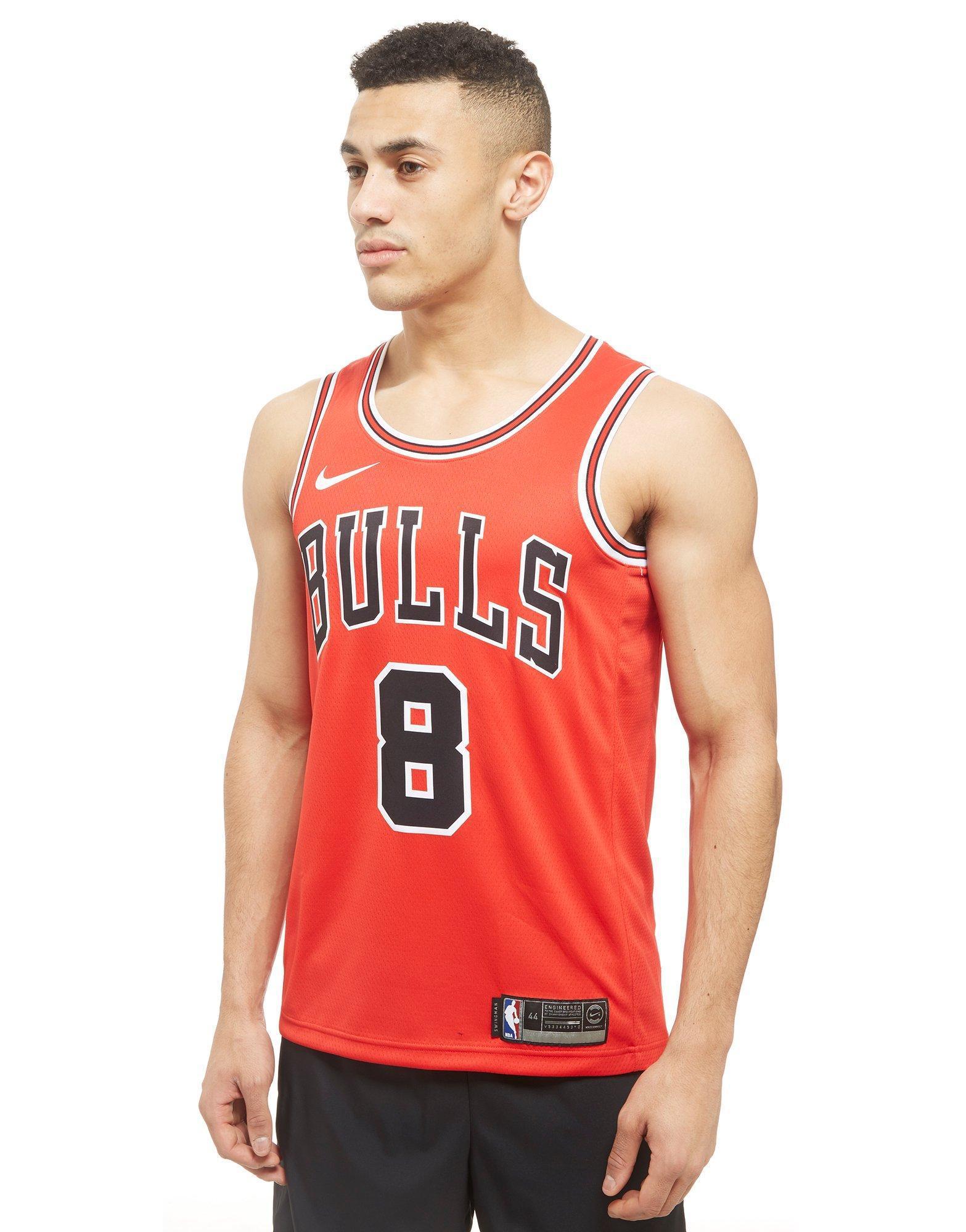 3589a04b3 Nike Nba Chicago Bulls Swingman Lavine Jersey in Red for Men - Lyst