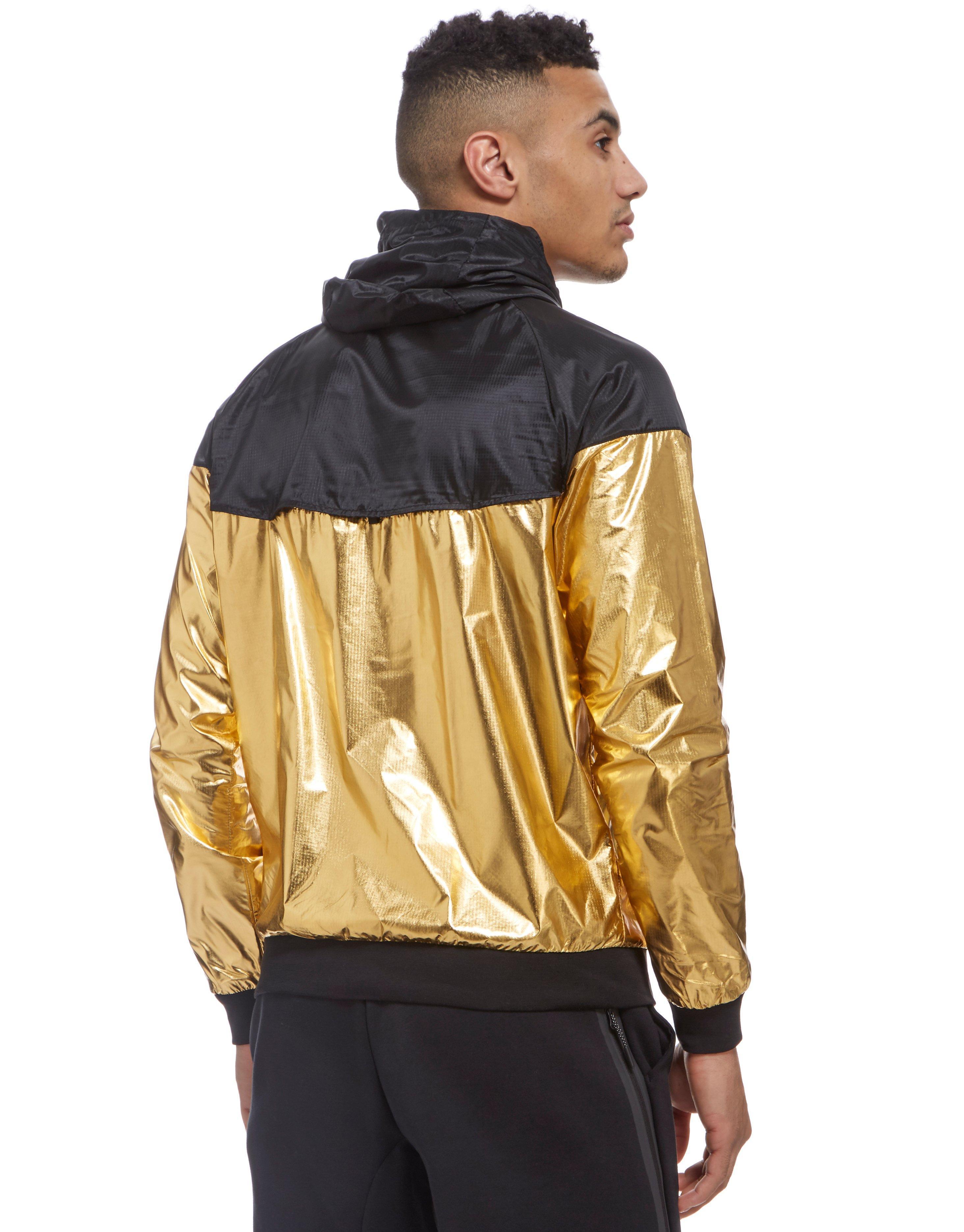 d4b78e96102f Lyst - Nike Windrunner Foil Jacket in Metallic for Men