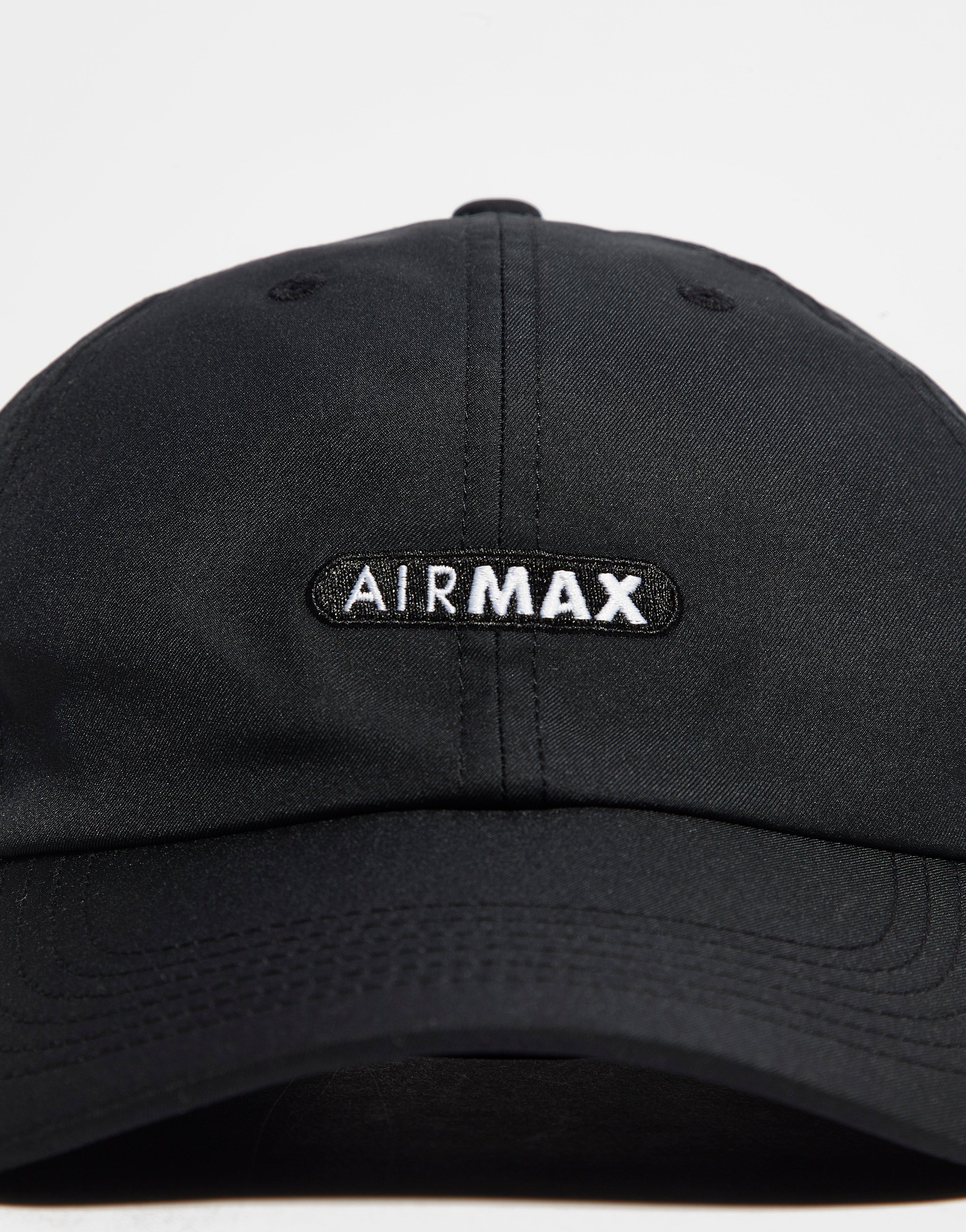 Lyst - Nike Air Max H86 Cap in Black for Men 0c338a671137