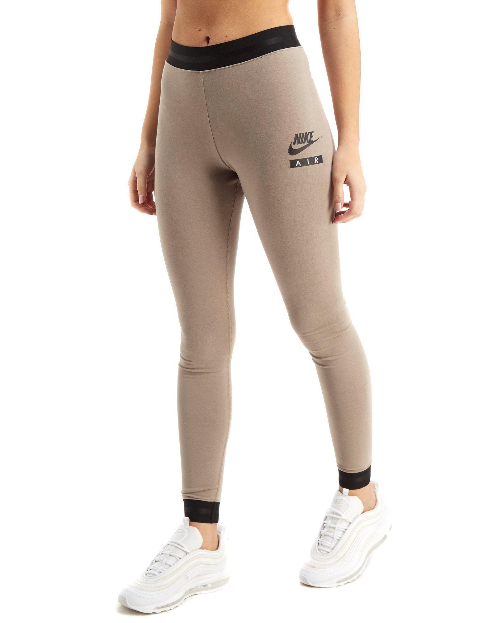 826b12378e6b4 Nike Air High Waist Leggings in Natural - Lyst