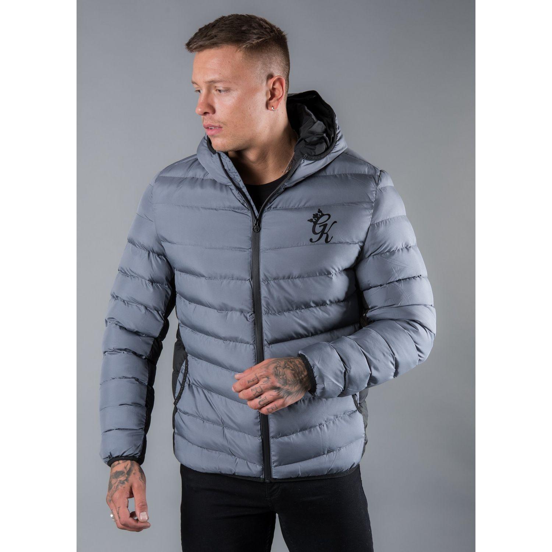 4e11b49b3fd2b Gym King Bubble Jacket in Gray for Men - Lyst