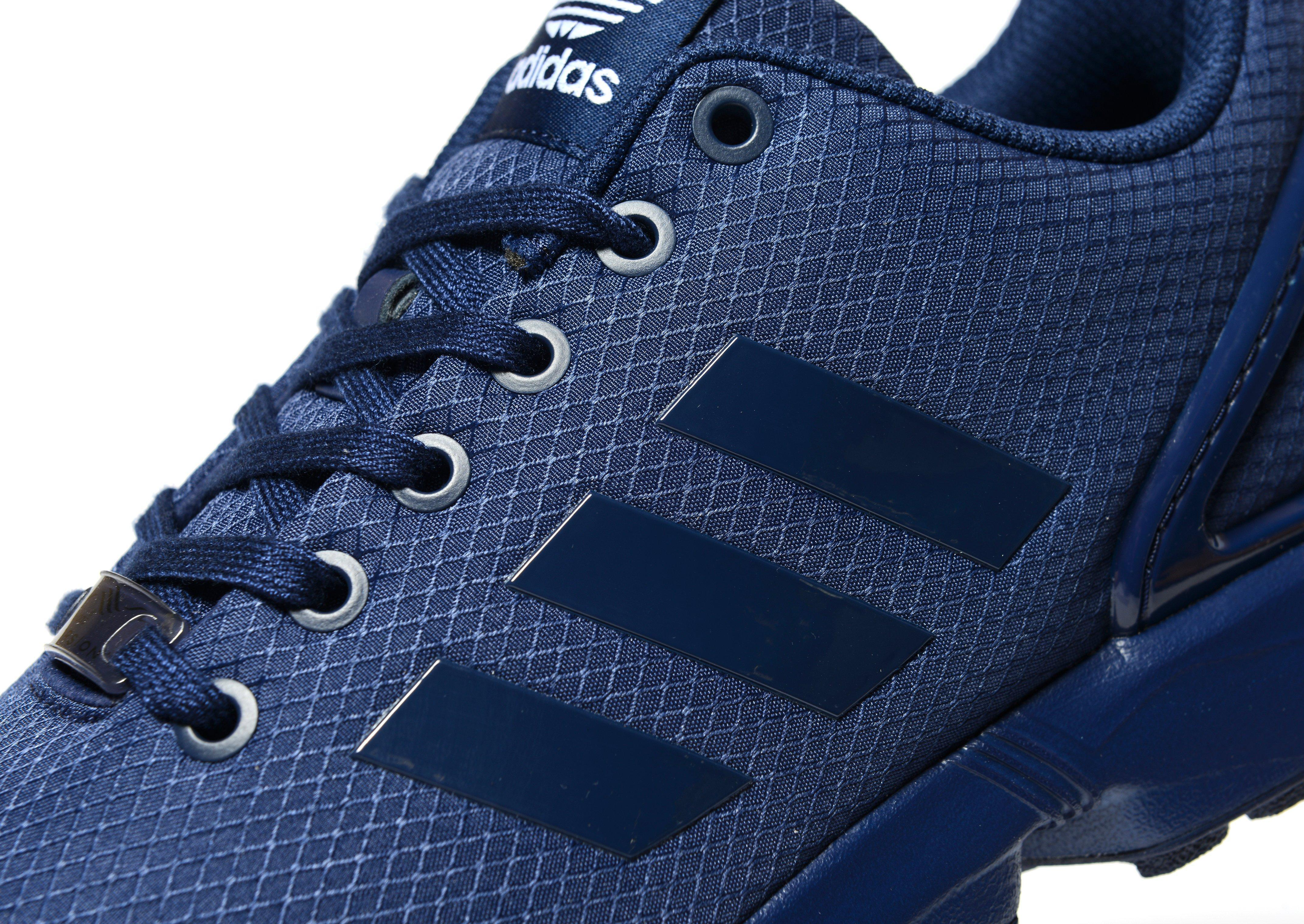 the best attitude 25187 4ead3 ... aliexpress lyst adidas originals zx flux ripstop in blue for men c6908  cbdde