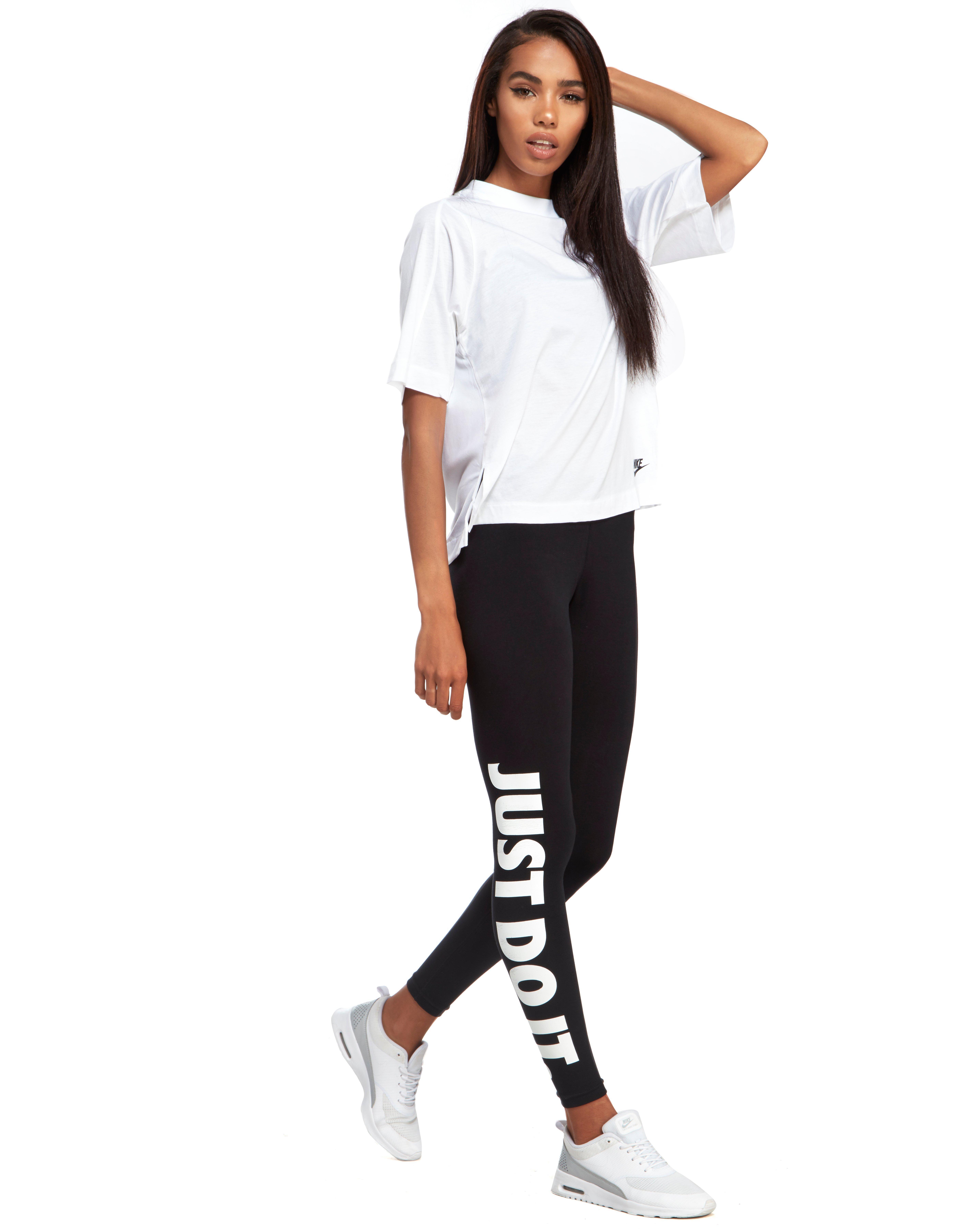 48a8d82bf3e965 Nike Sportswear Bonded Top in White - Lyst