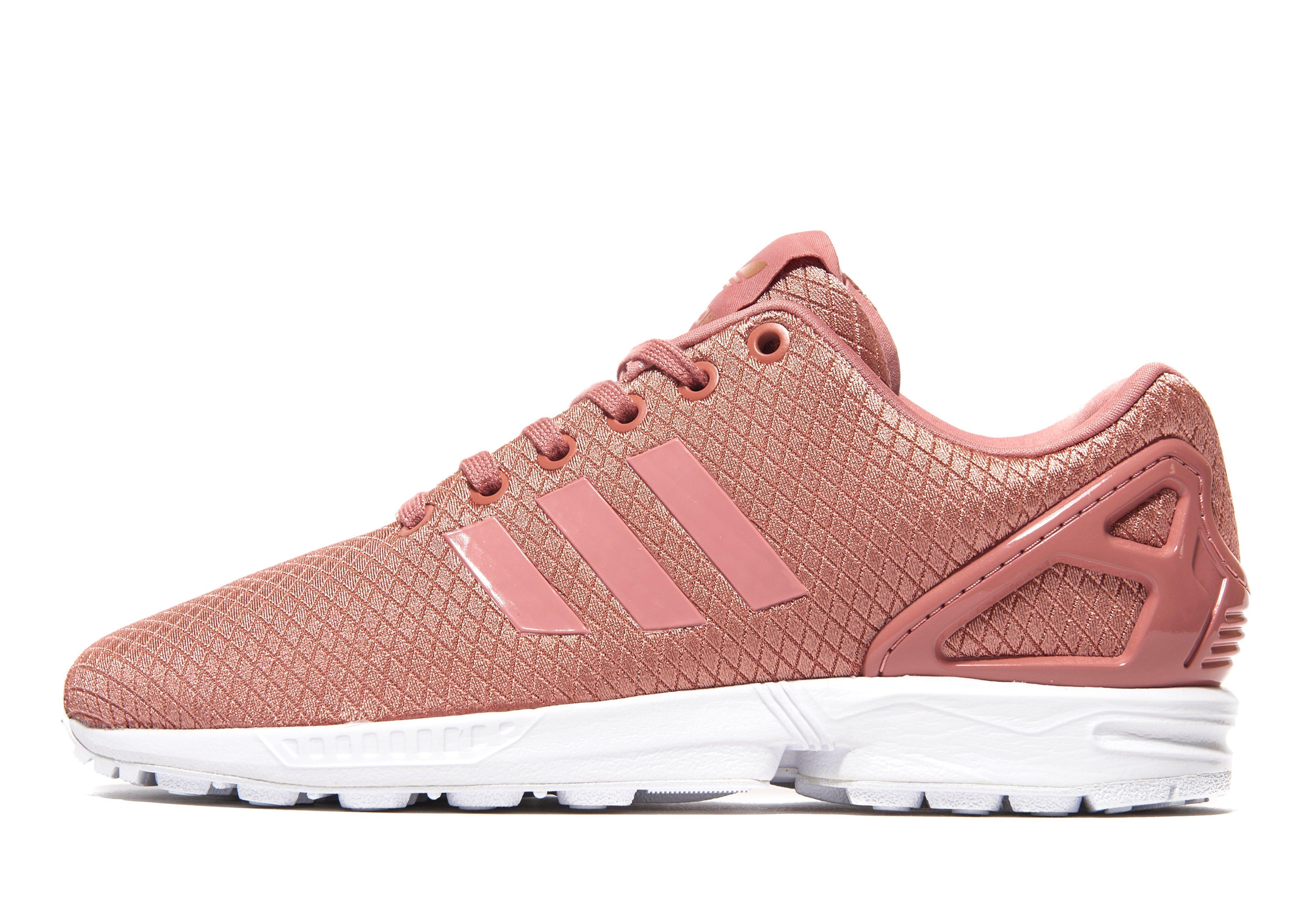 7aeb6e2cf7dd07 Lyst - Adidas Originals Zx Flux in Pink