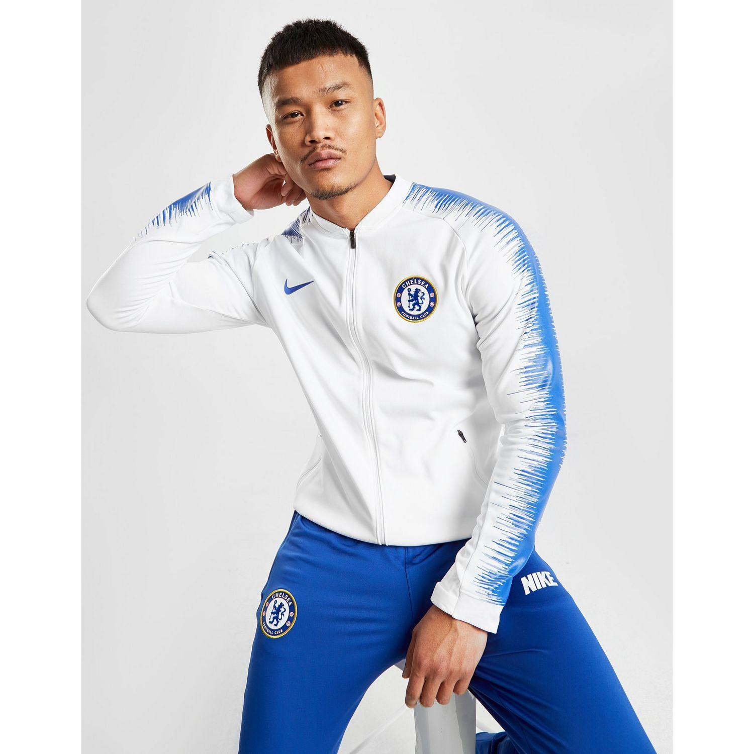 c5f6c22ba Nike Chelsea Fc Anthem Men s Football Jacket in Blue for Men - Lyst