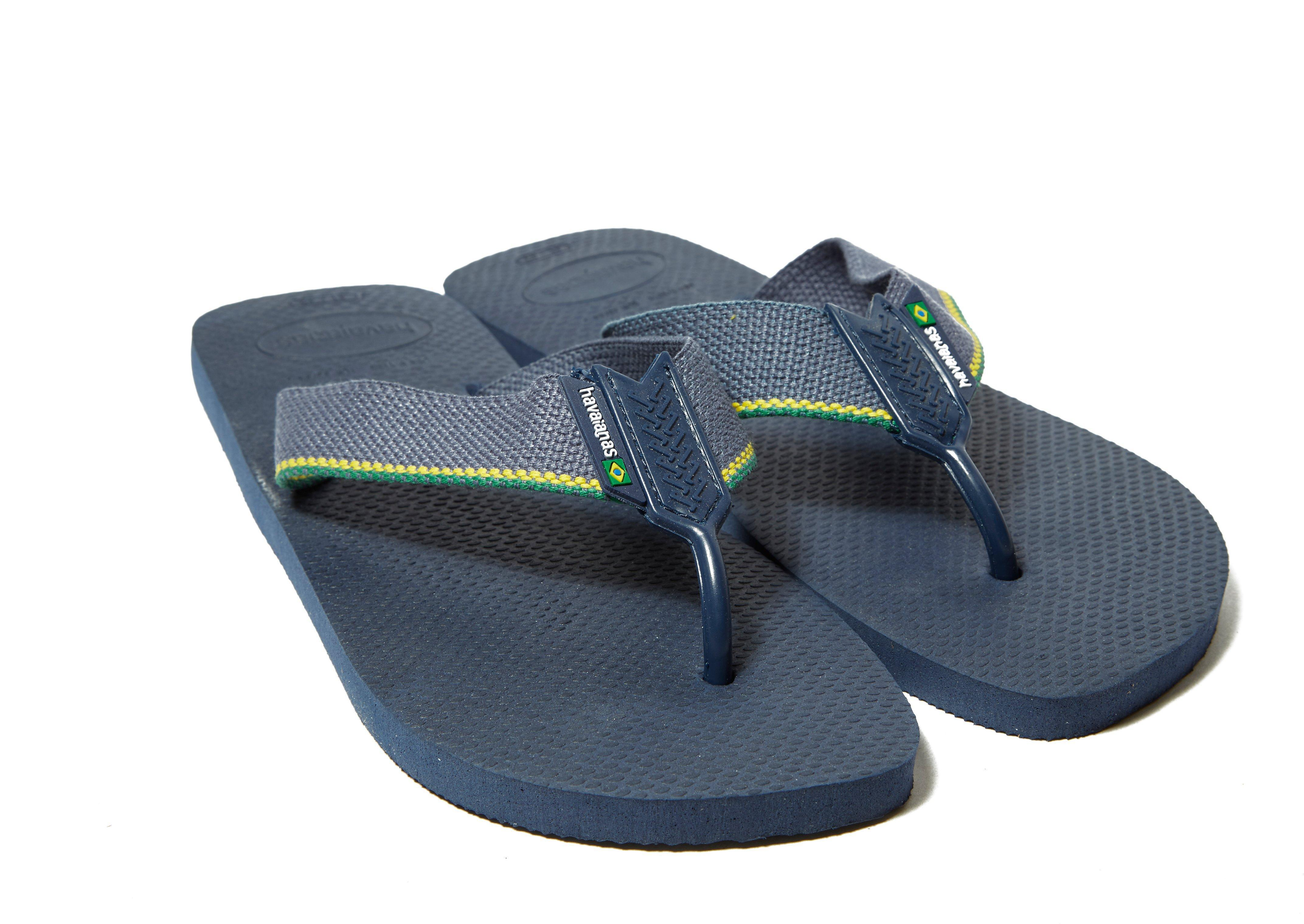07231b7da51c7b Havaianas Brazil Logo Urban Sandals in Blue for Men - Save ...