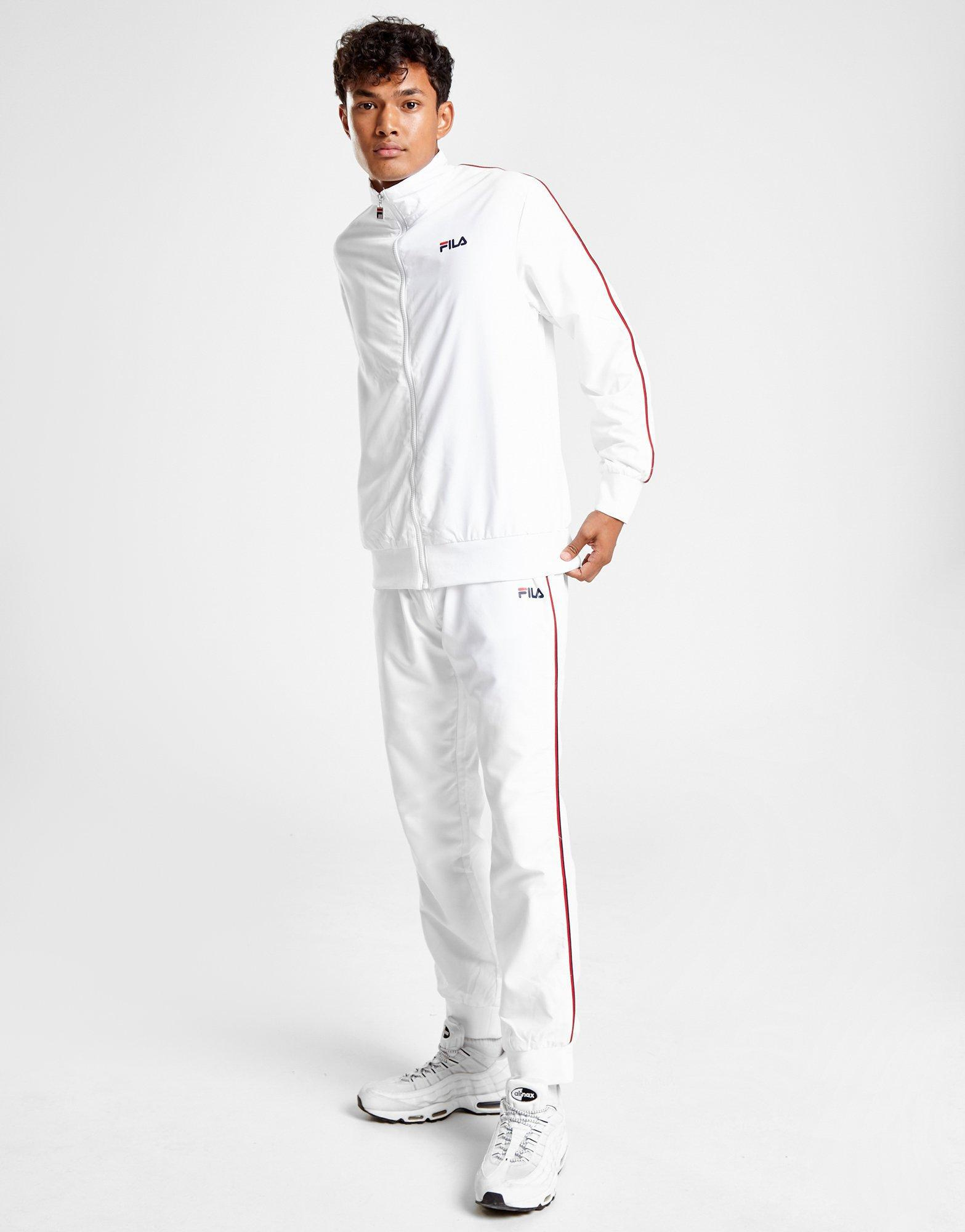 a0b5eb15794 Lyst - Fila Duane Woven Tracksuit in White for Men
