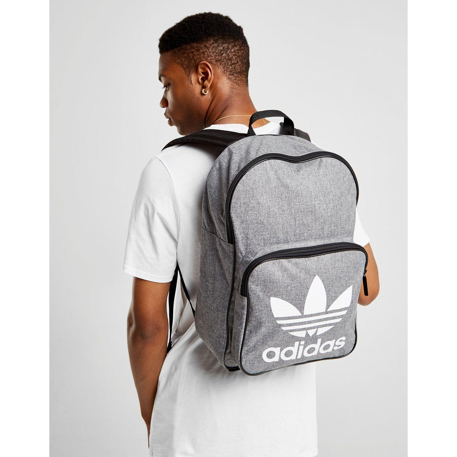 16614b31f0 Lyst - adidas Originals Classic Trefoil Backpack in Black for Men