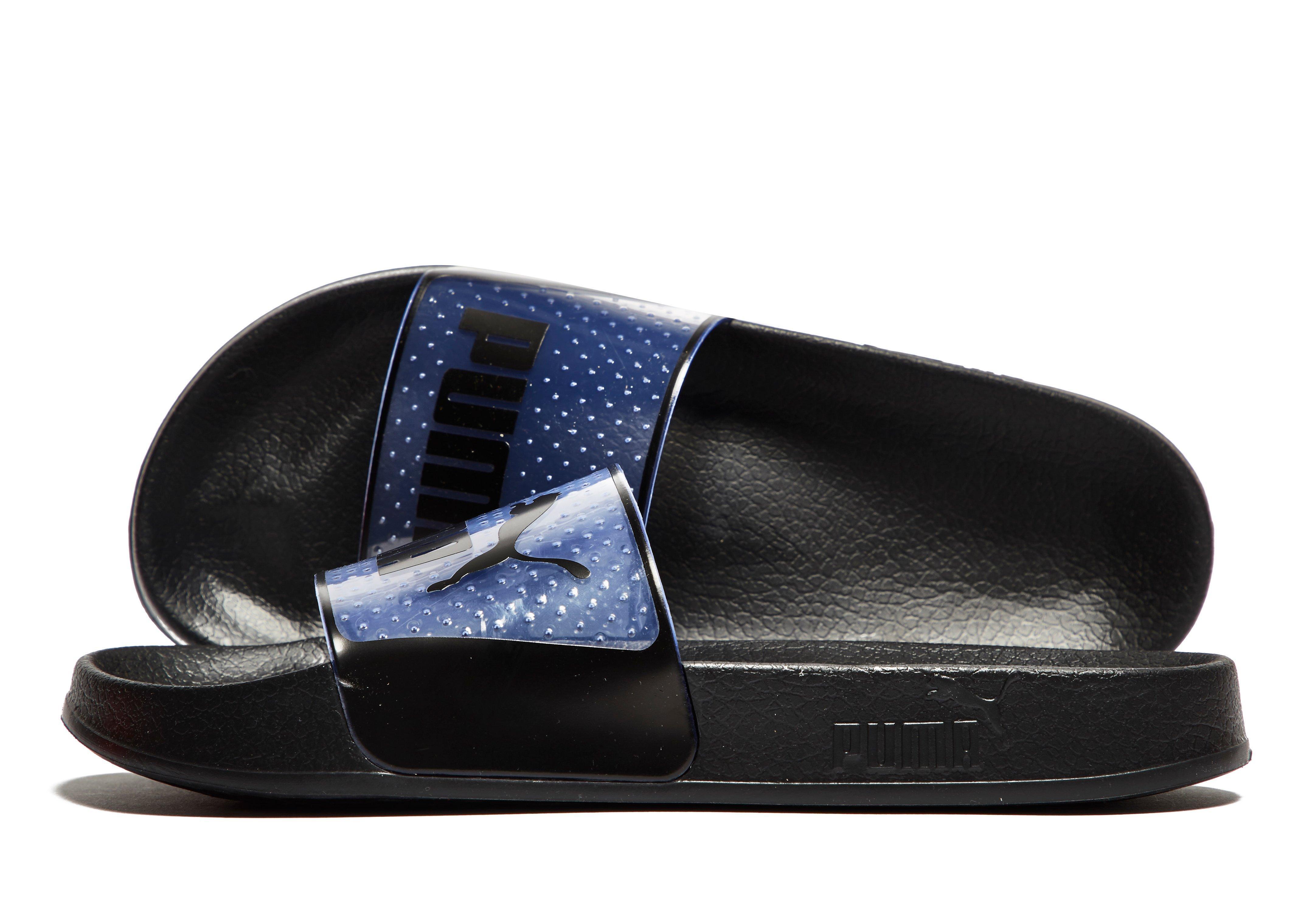 PUMA Leadcat Jelly Slides in Black for Men - Lyst 4d5fe1641