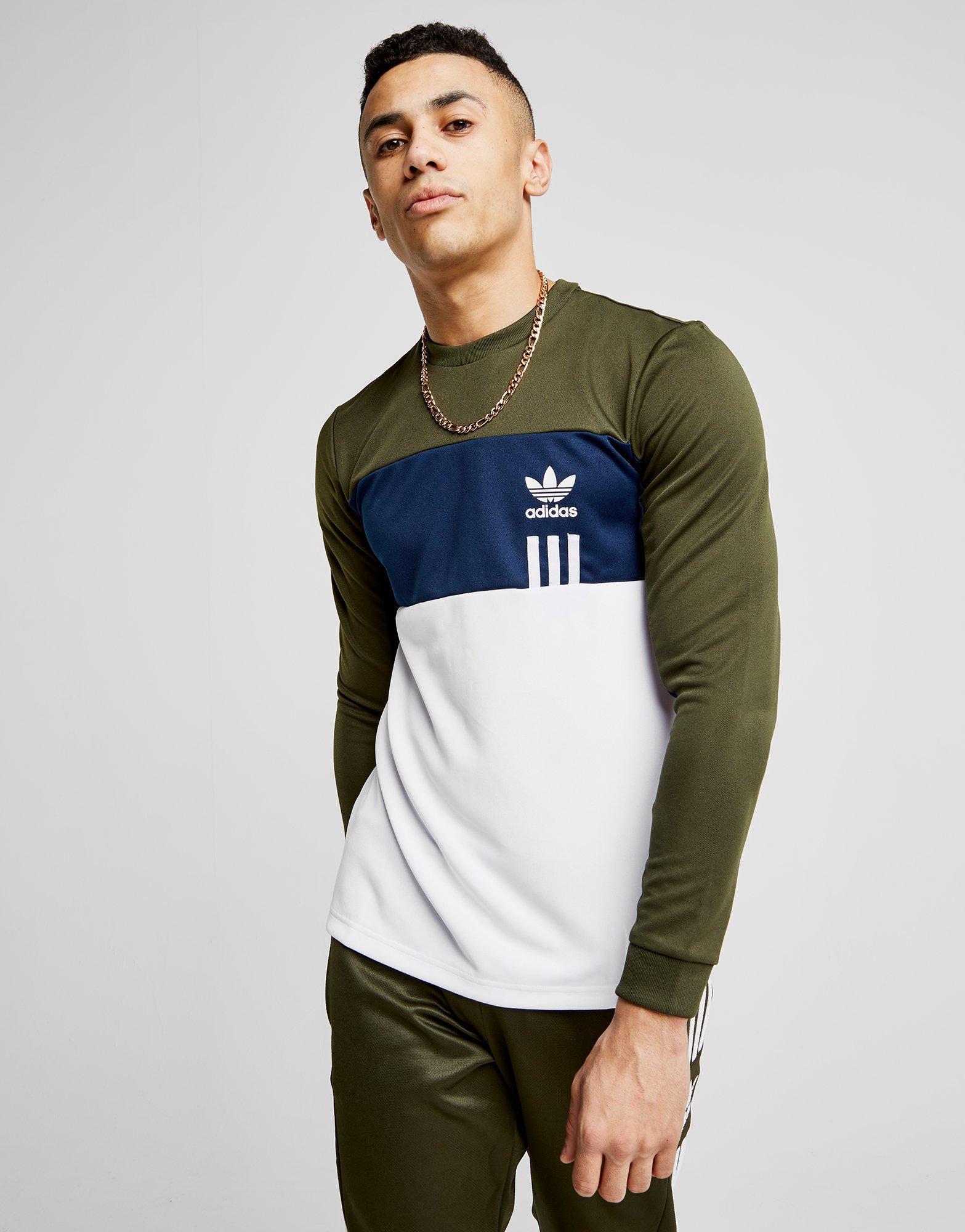 8e5e2d89 adidas Originals Id96 Long Sleeve T-shirt for Men - Lyst