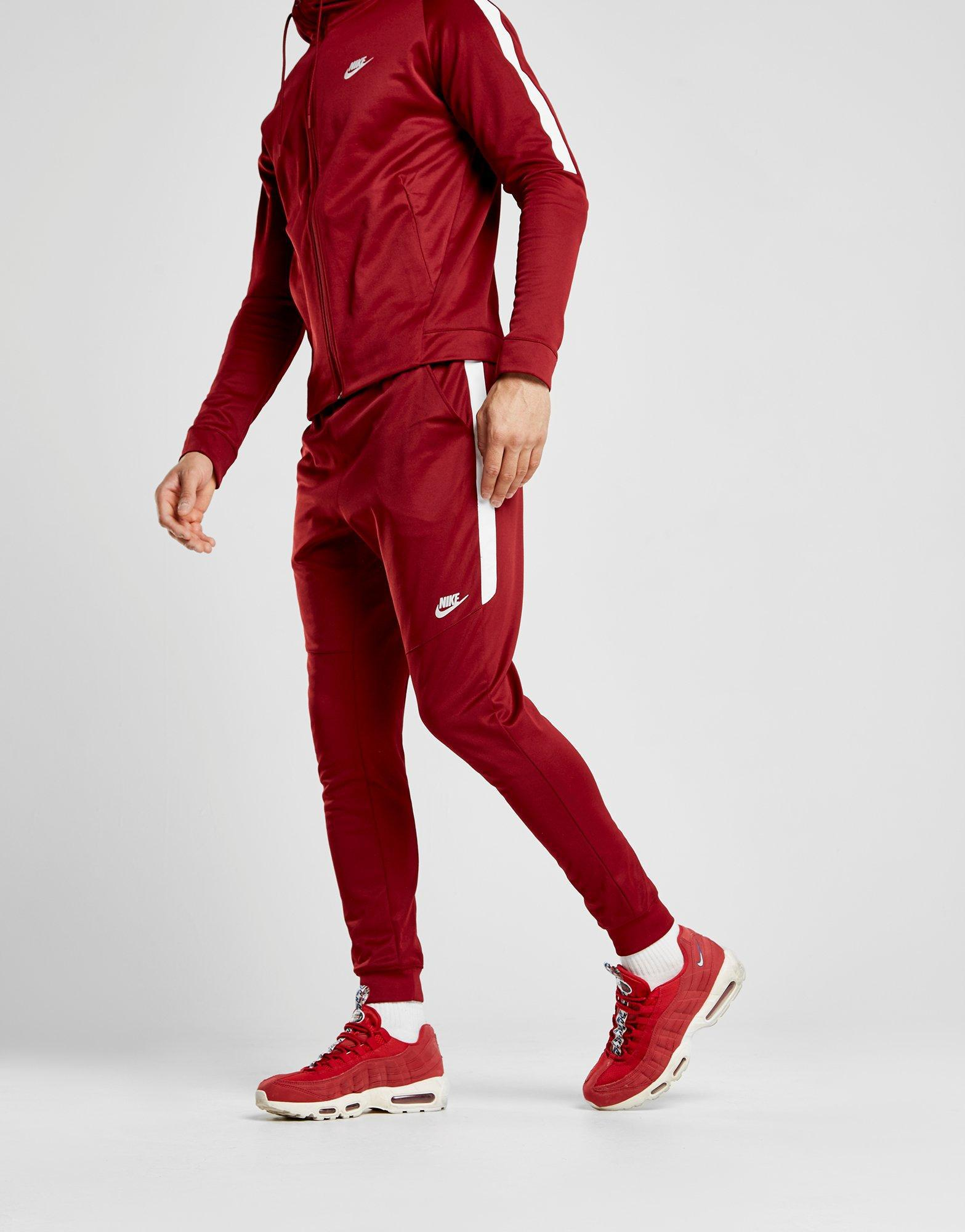Lyst - Nike Tribute Dc Pants in Red for Men 670a13526