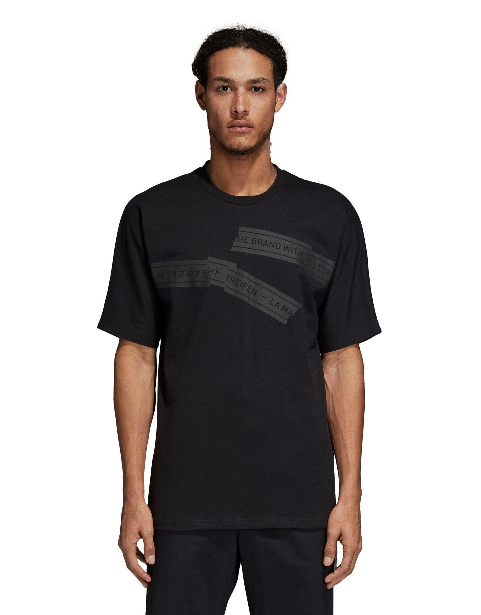 4ce3f21e Lyst - Adidas Nmd Tee in Black for Men