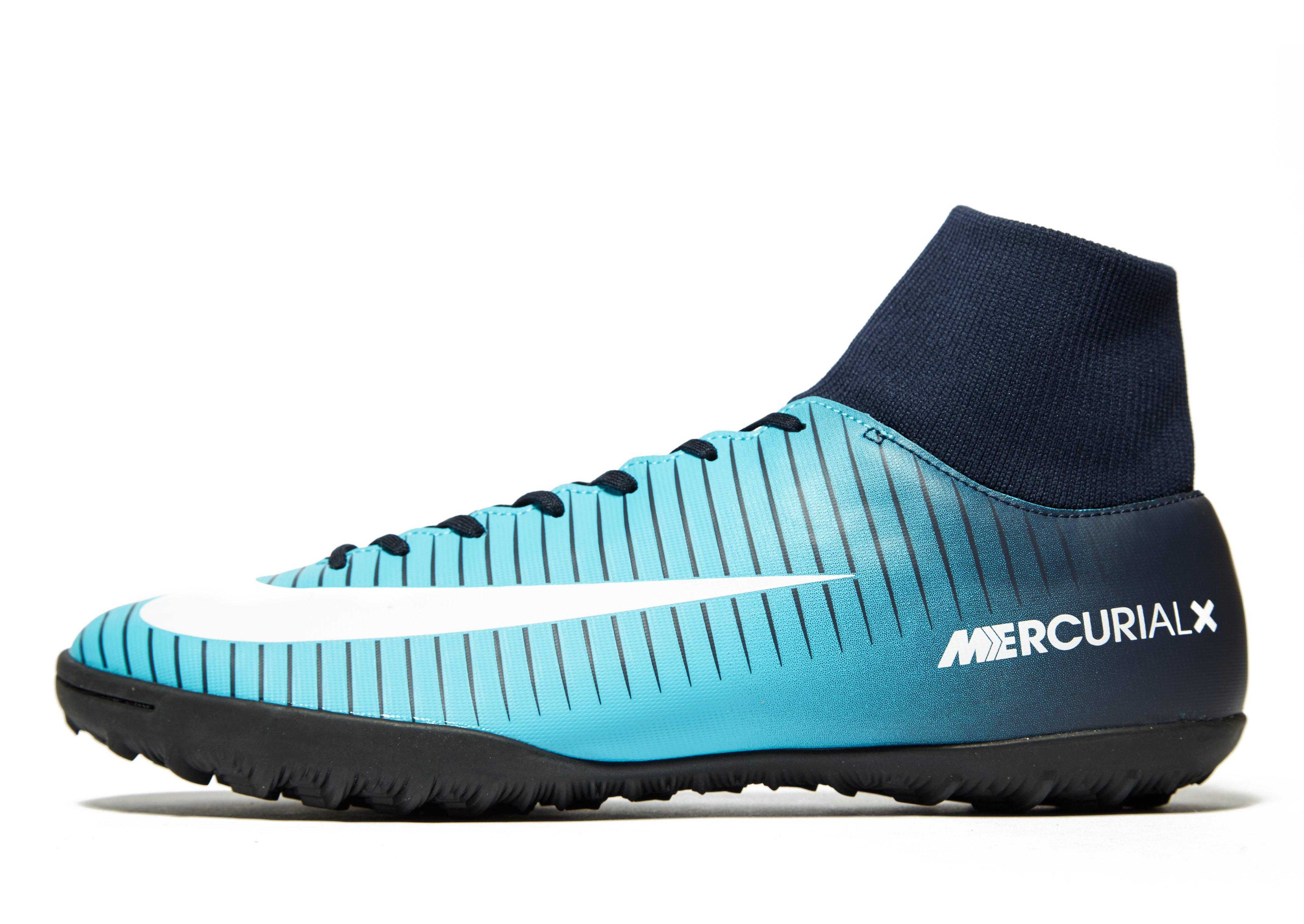 promo code a242c 2202f Nike Fire And Ice Mercurial Veloce Dynamic Fit Tf in Blue for Men - Lyst