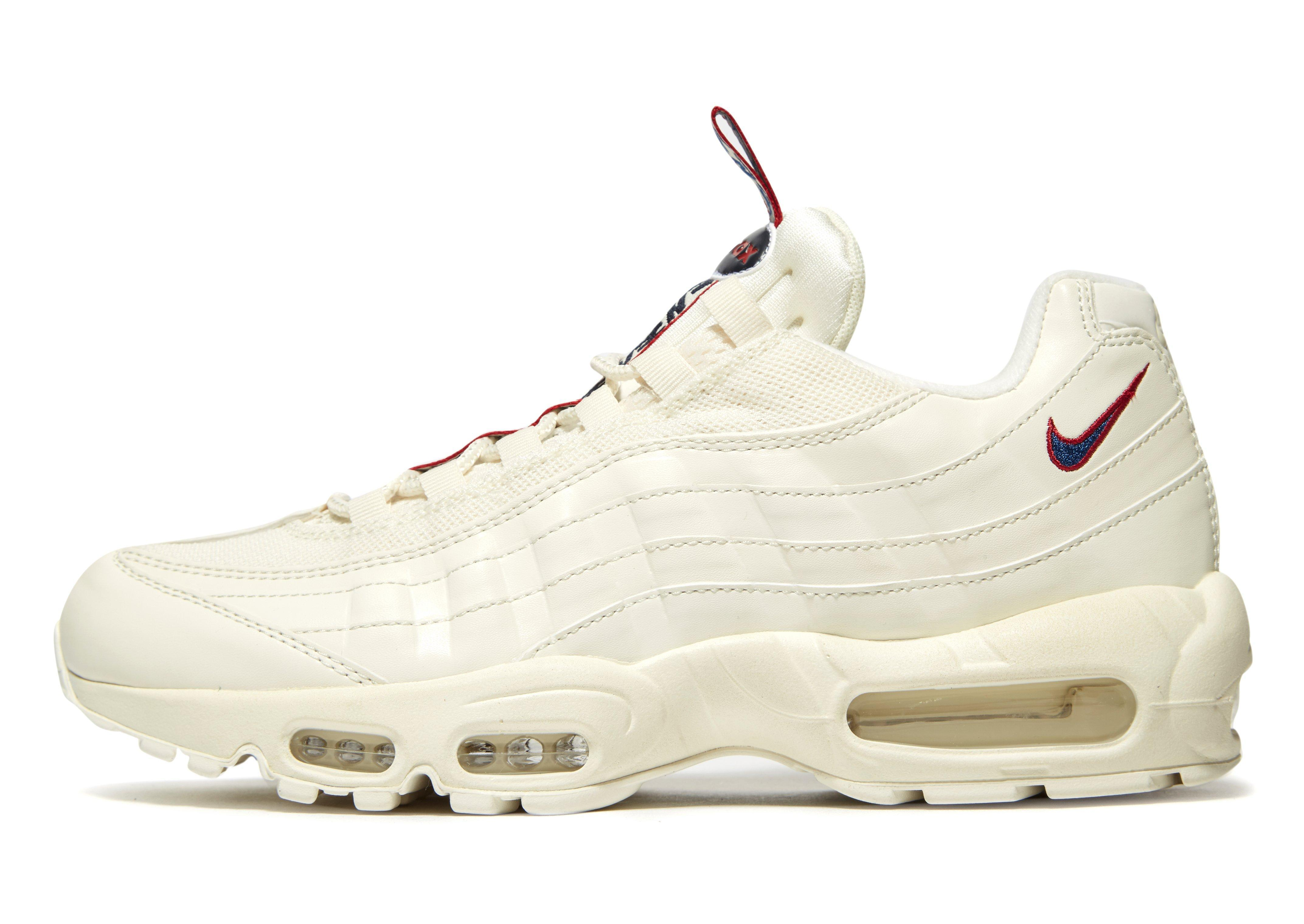 low priced adebb f791b For  taped  Lyst Men In White Max Air 95 Nike BdtxosQChr