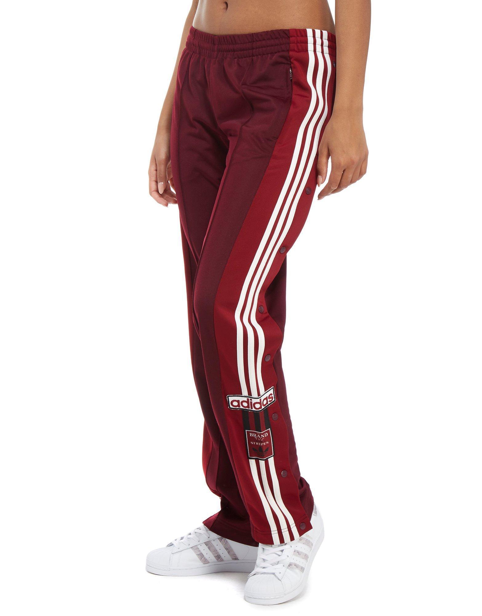6a0ae226e adidas Originals Adibreak Popper Pants in Red - Lyst