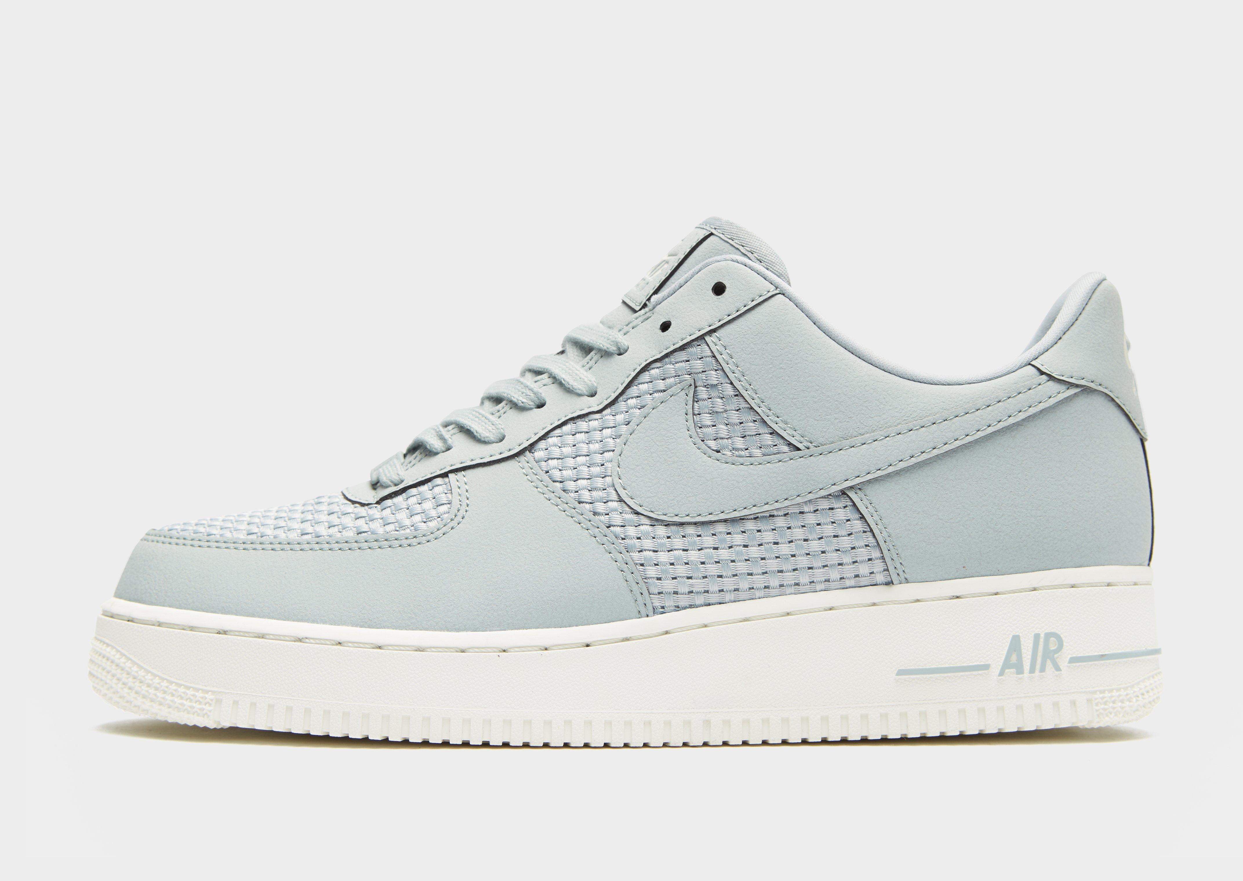 Nike Gray Air Force 1 Woven for men