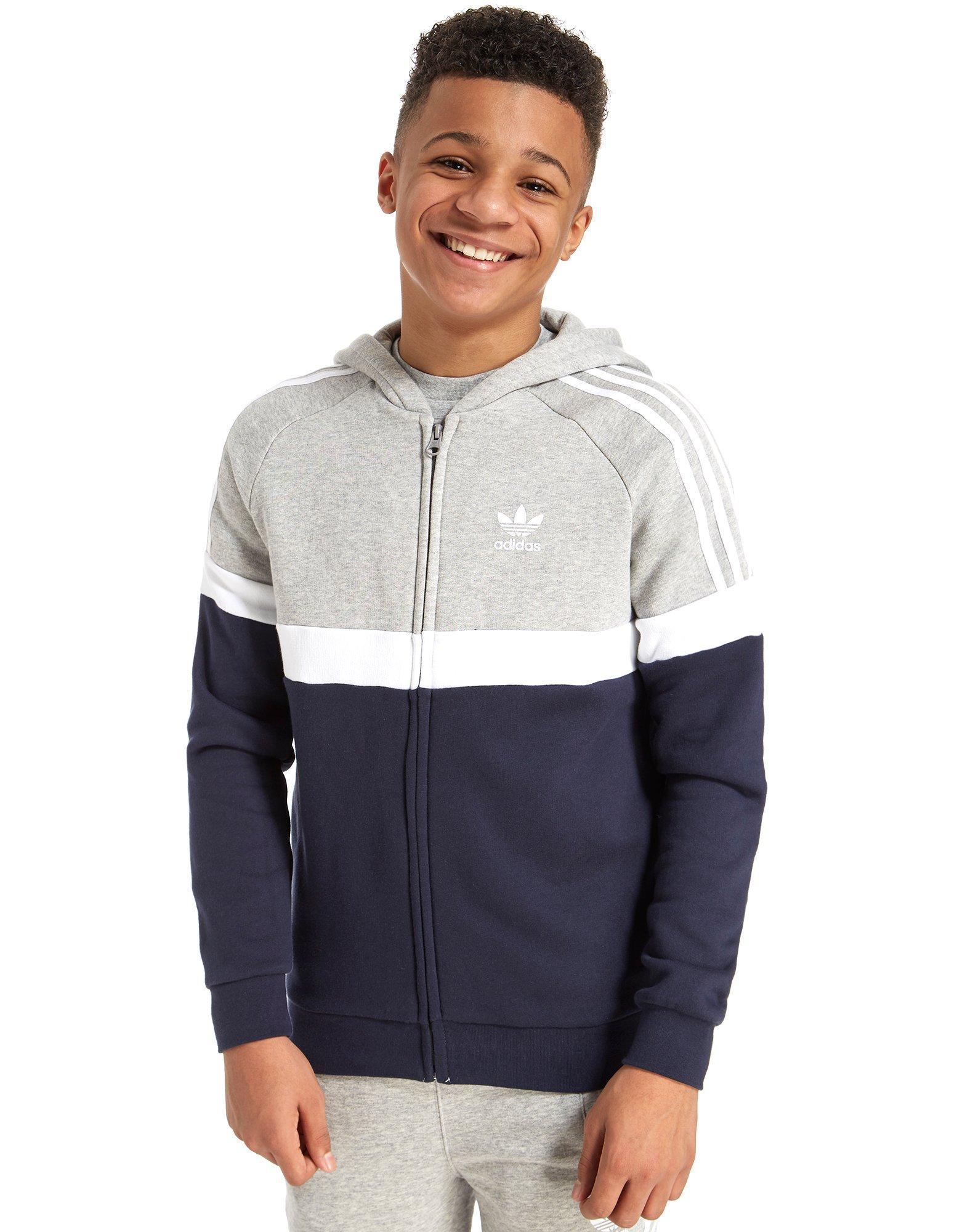 50916282f01a Lyst - adidas Originals Itasca Hoodie Junior in Gray for Men