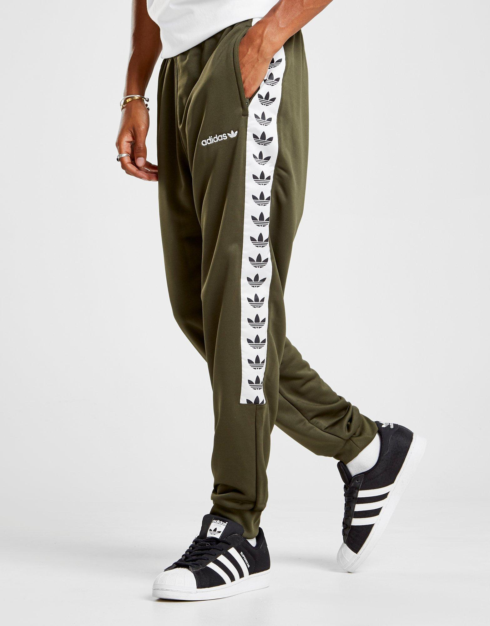 25cdd0849938 Lyst - adidas Originals Tape Poly Track Pants for Men