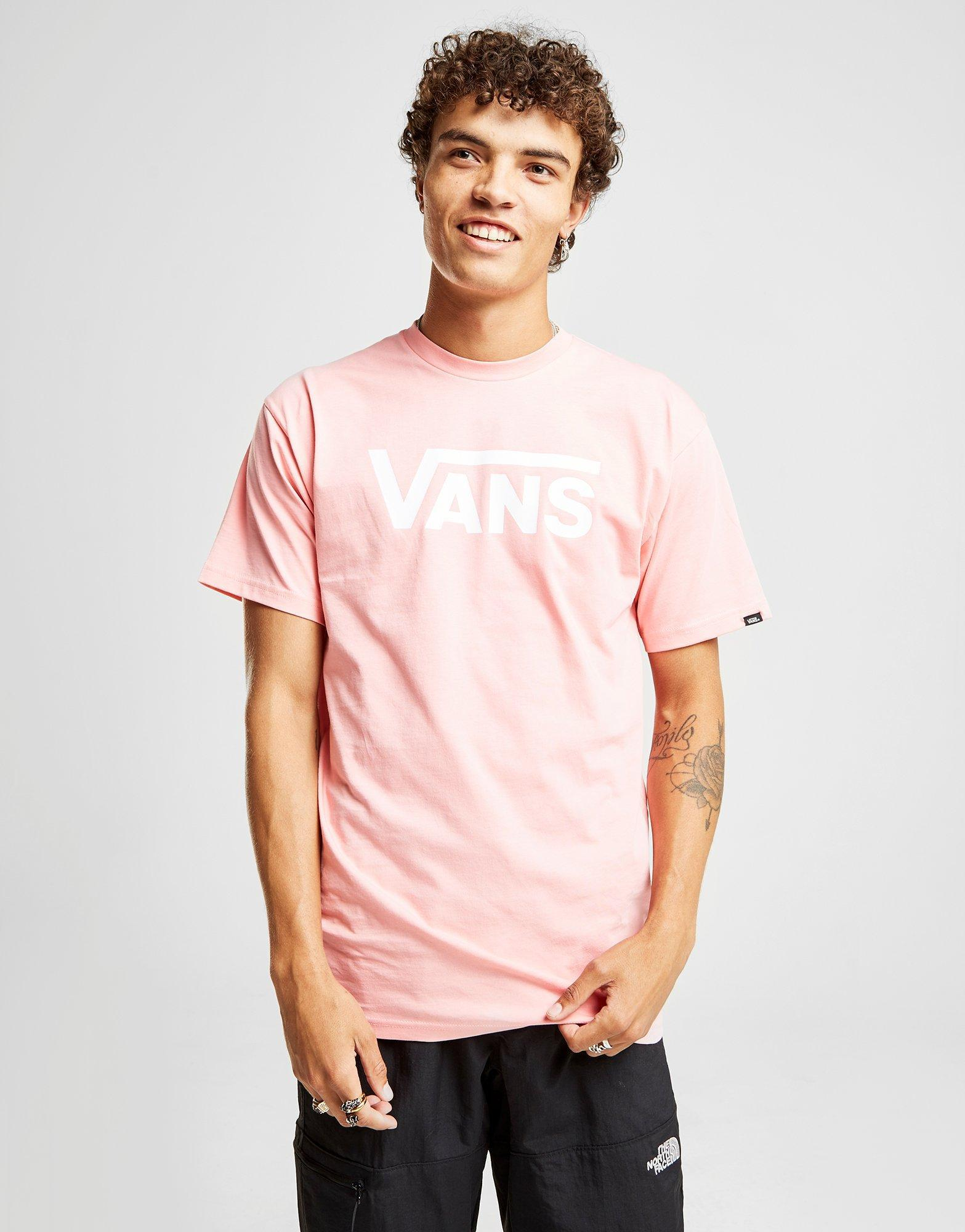 75ac519c1b Lyst - Vans Drop V T-shirt in Pink for Men