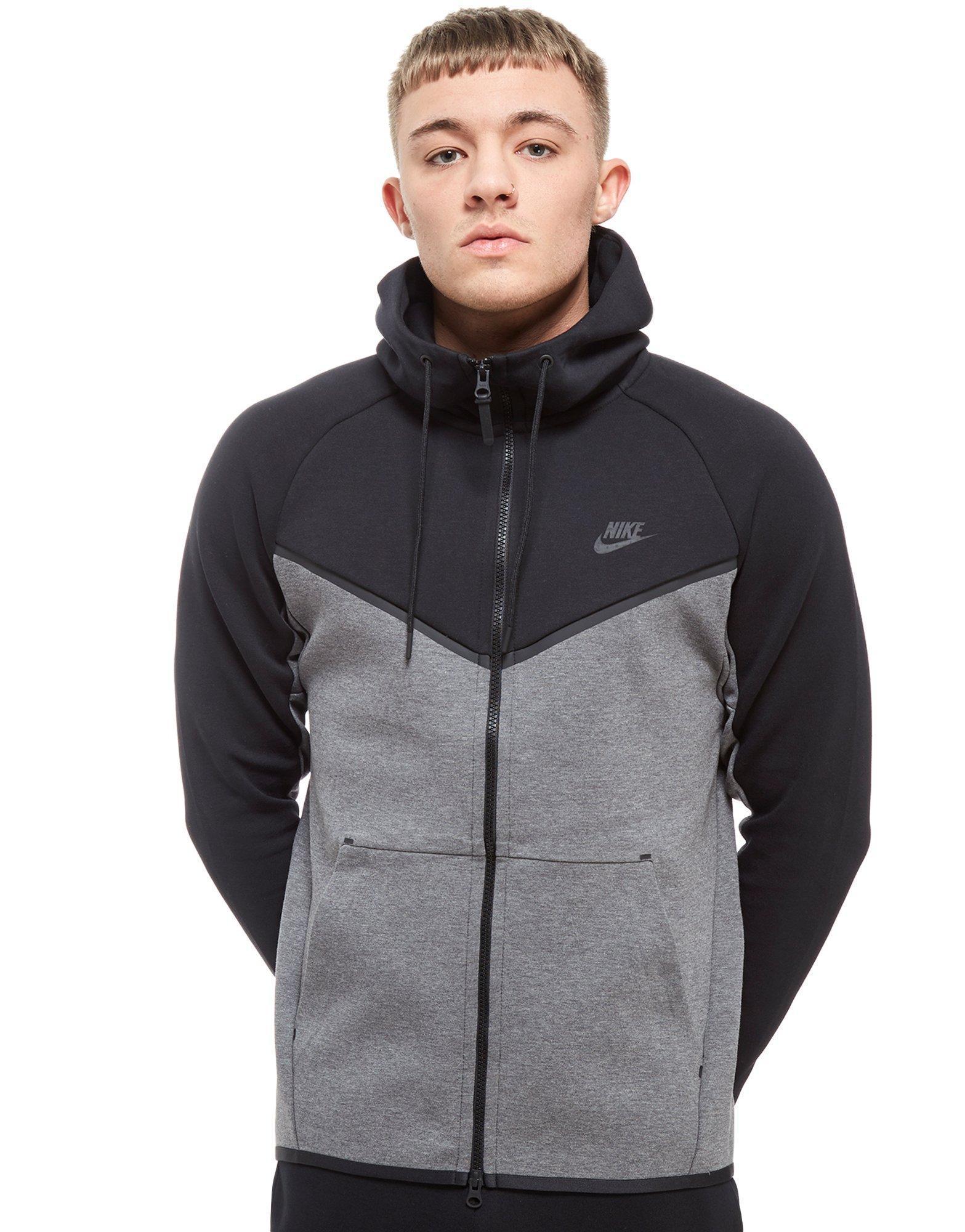 966555f21 Nike Tech Fleece Windrunner Full Zip Hoodie for Men - Lyst