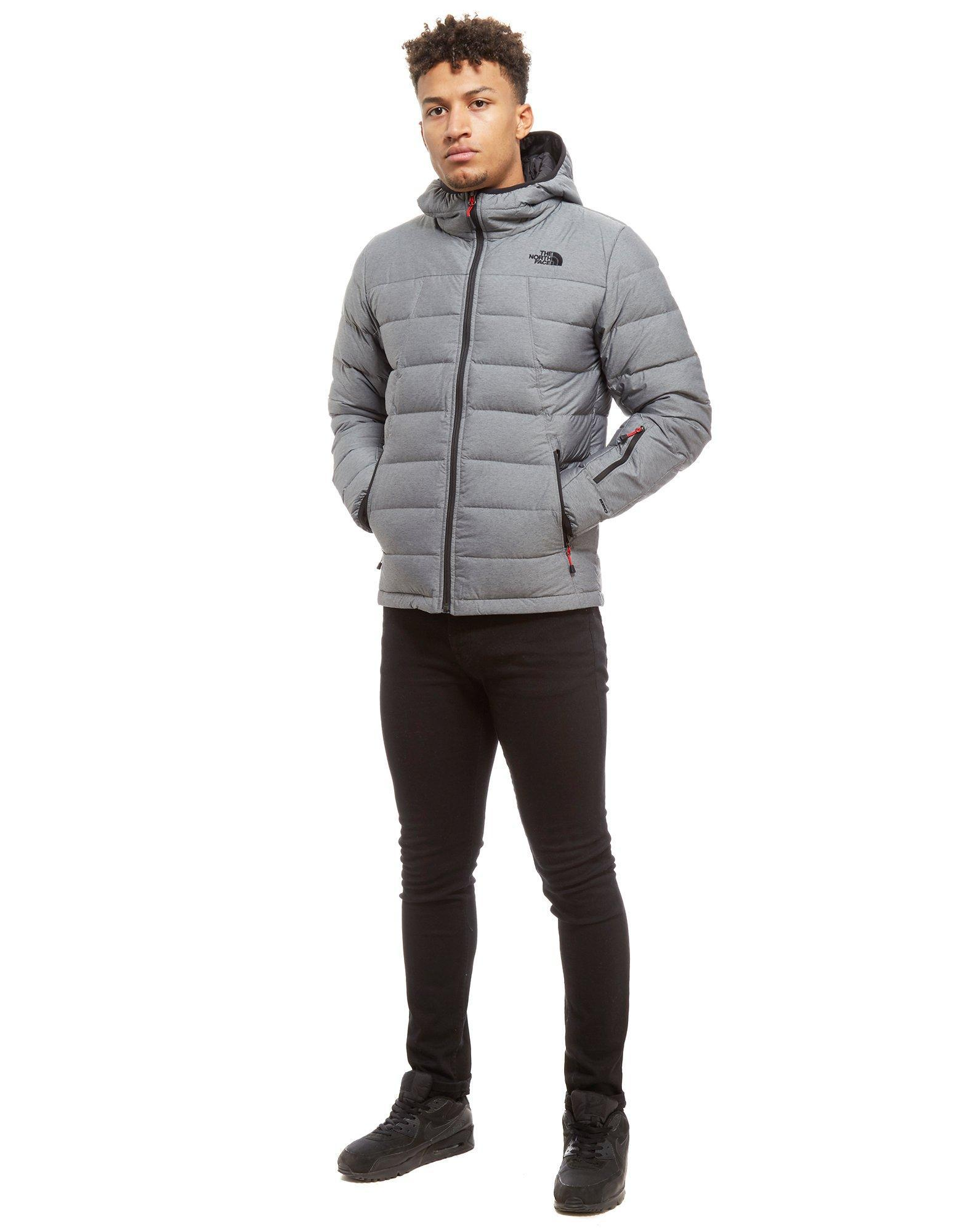 2b395c9b89a3 ... discount lyst the north face shark down padded jacket in gray for men  09d86 c28b8