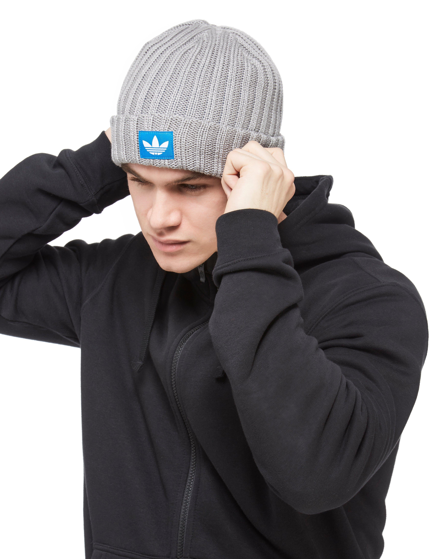 Lyst - adidas Originals Trefoil Fisherman Beanie in Gray for Men 873ca1ecbfe