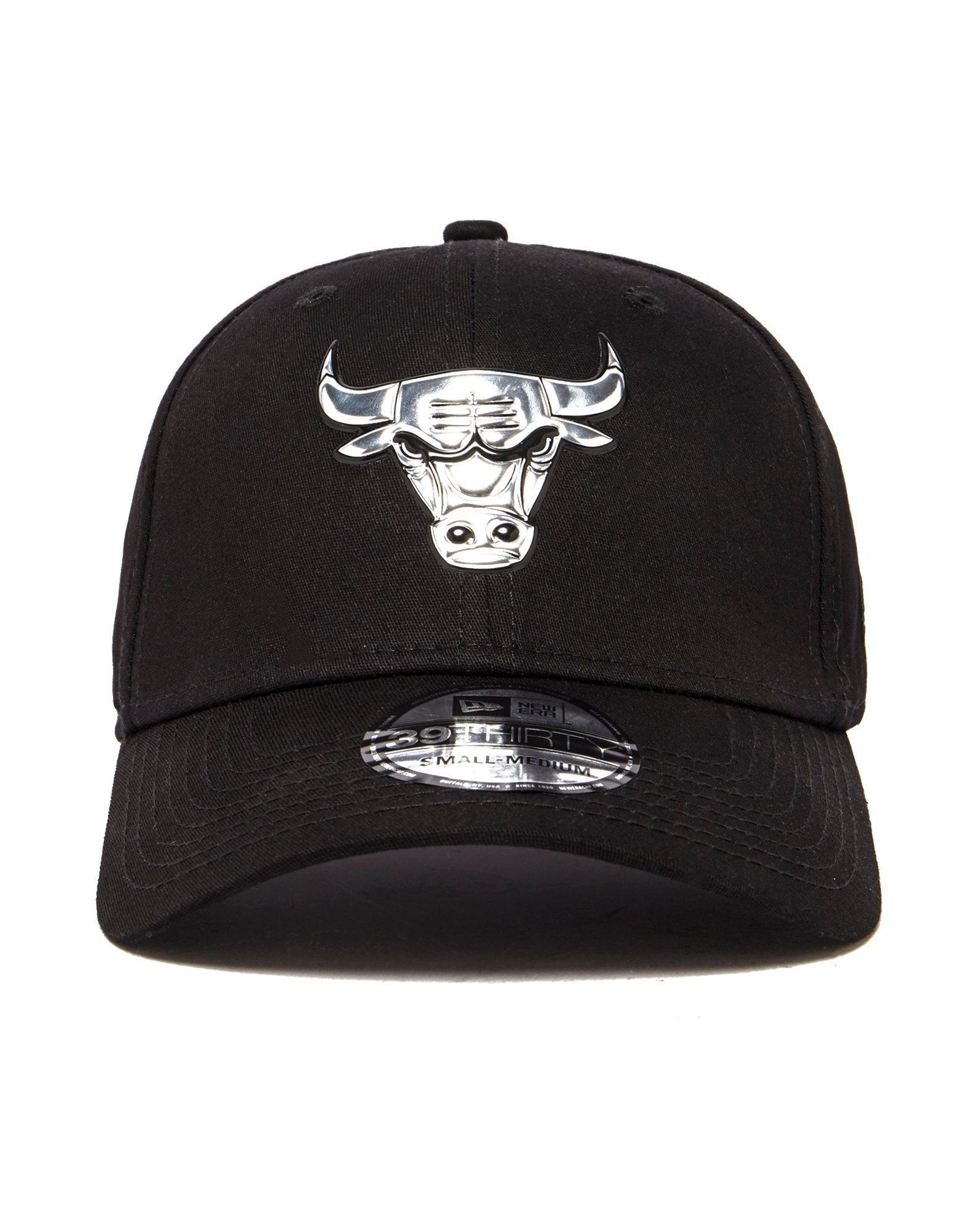 597efde637b Lyst - KTZ Nba Chicago Bulls 39thirty Stretch Cap in Black for Men