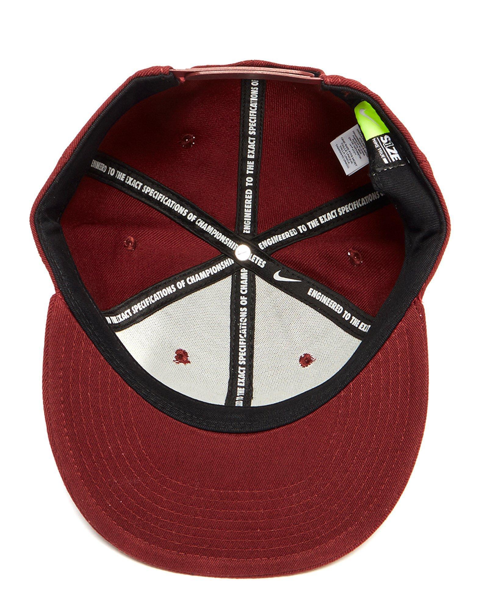 0164f62d67f Lyst - Nike Futura True 2 Snapback Cap in Red for Men