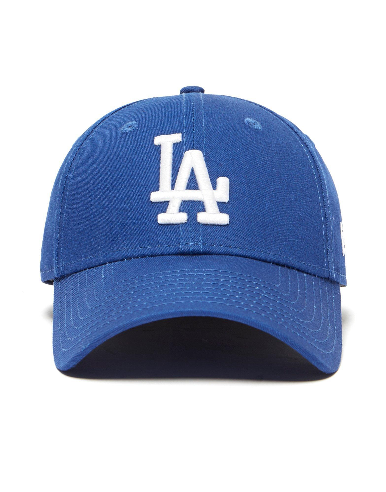 09a712d2599 Lyst - Ktz Mlb Los Angeles Dodgers 9forty Strapback Cap in Blue