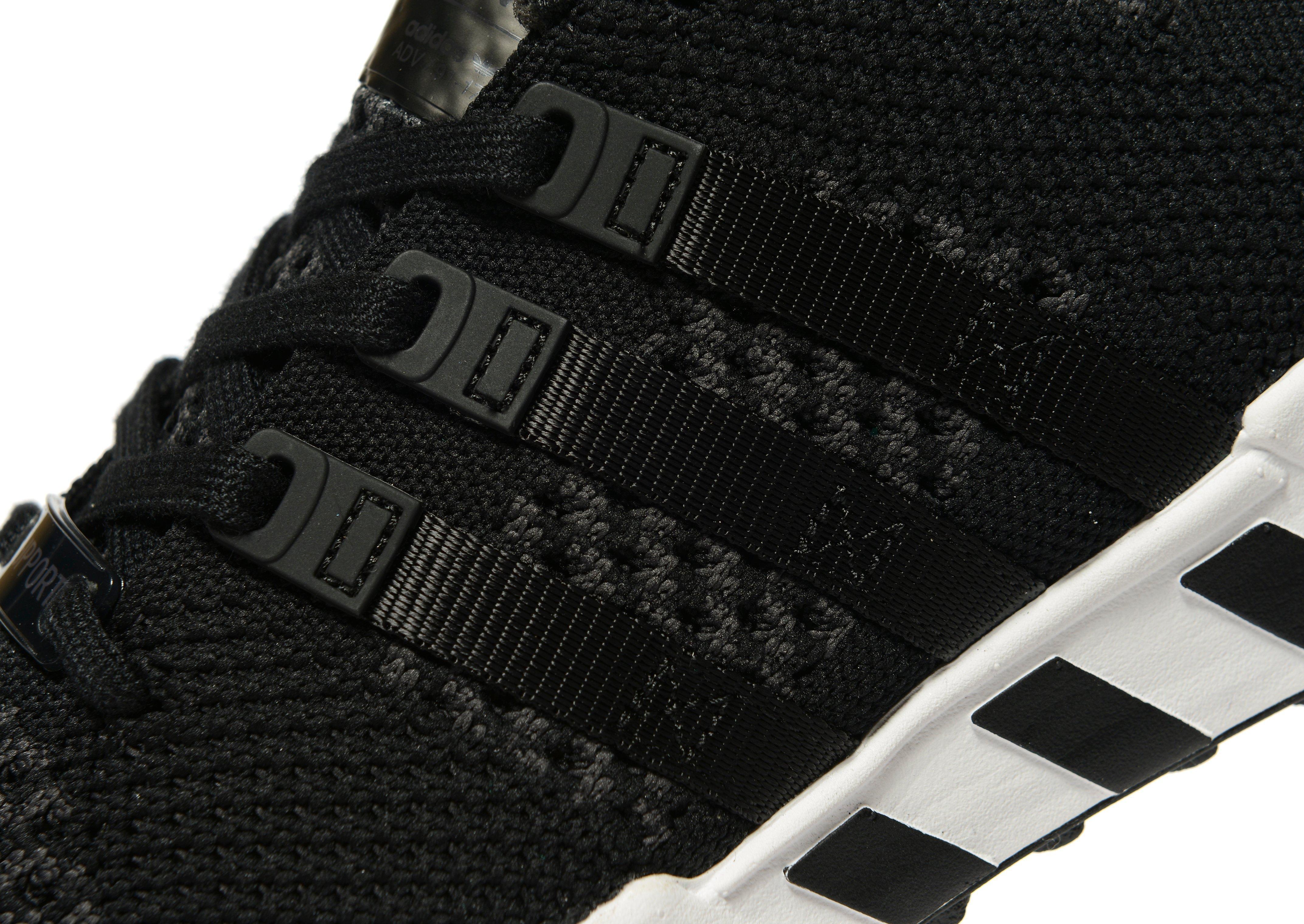 adidas originali eqt sostegno delle primeknit in nero per gli uomini lyst