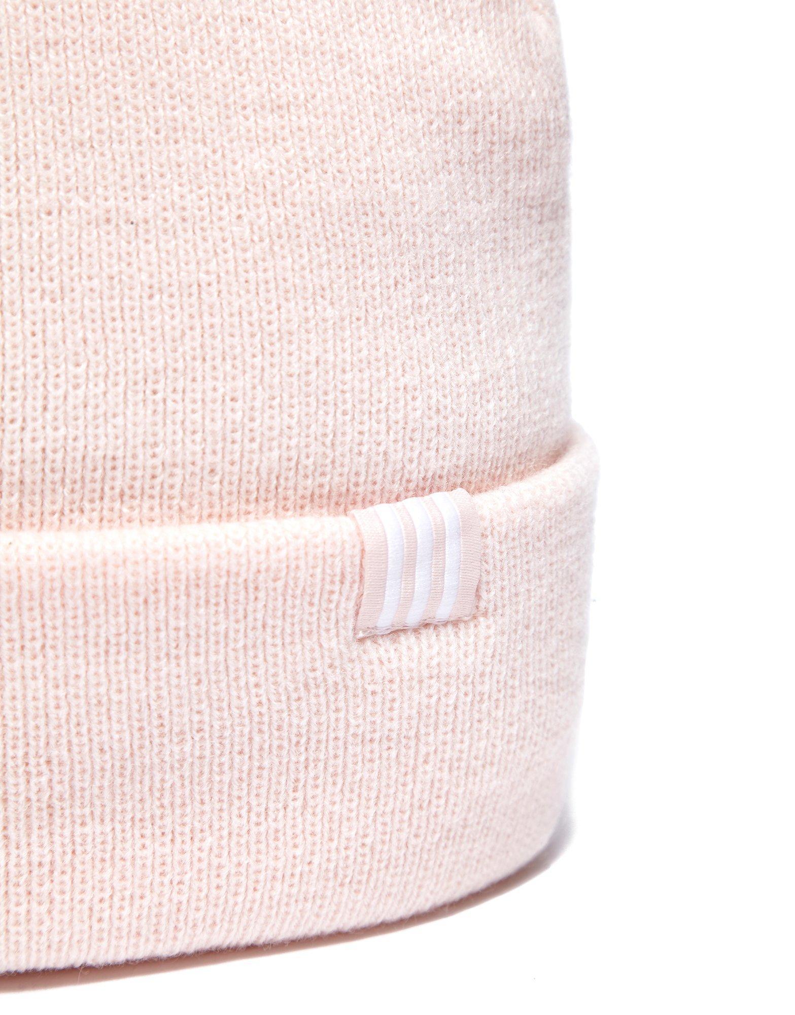 c015764c736 Lyst - adidas Originals Trefoil Beanie Hat in Pink for Men
