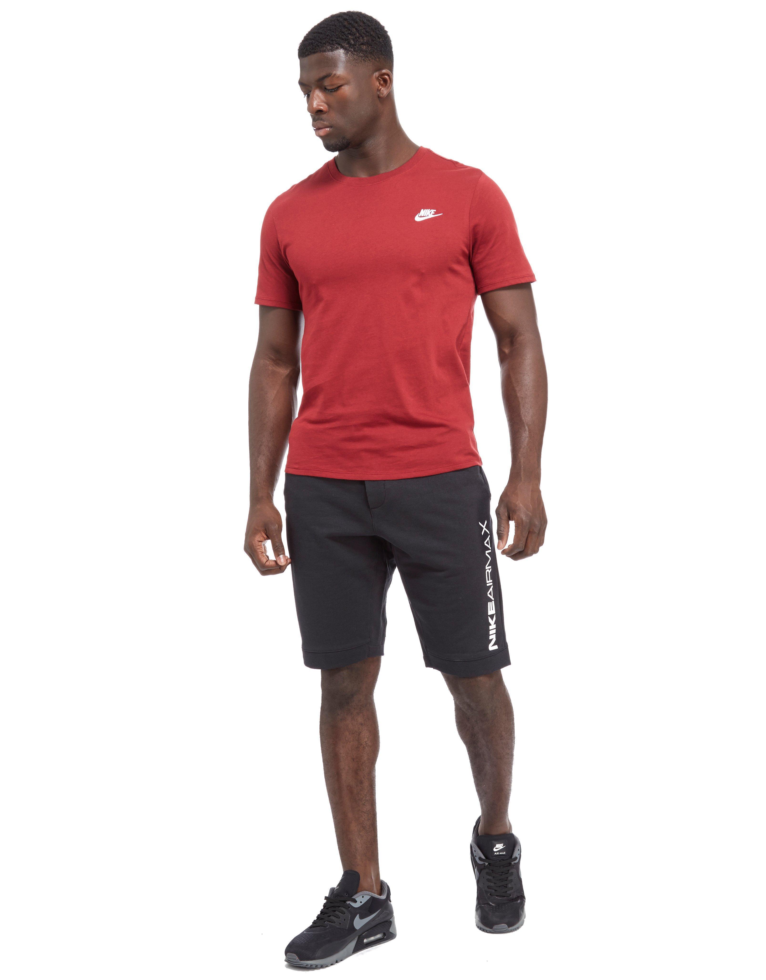 857b09e34ad Lyst - Nike Air Max Fleece Shorts in Black for Men
