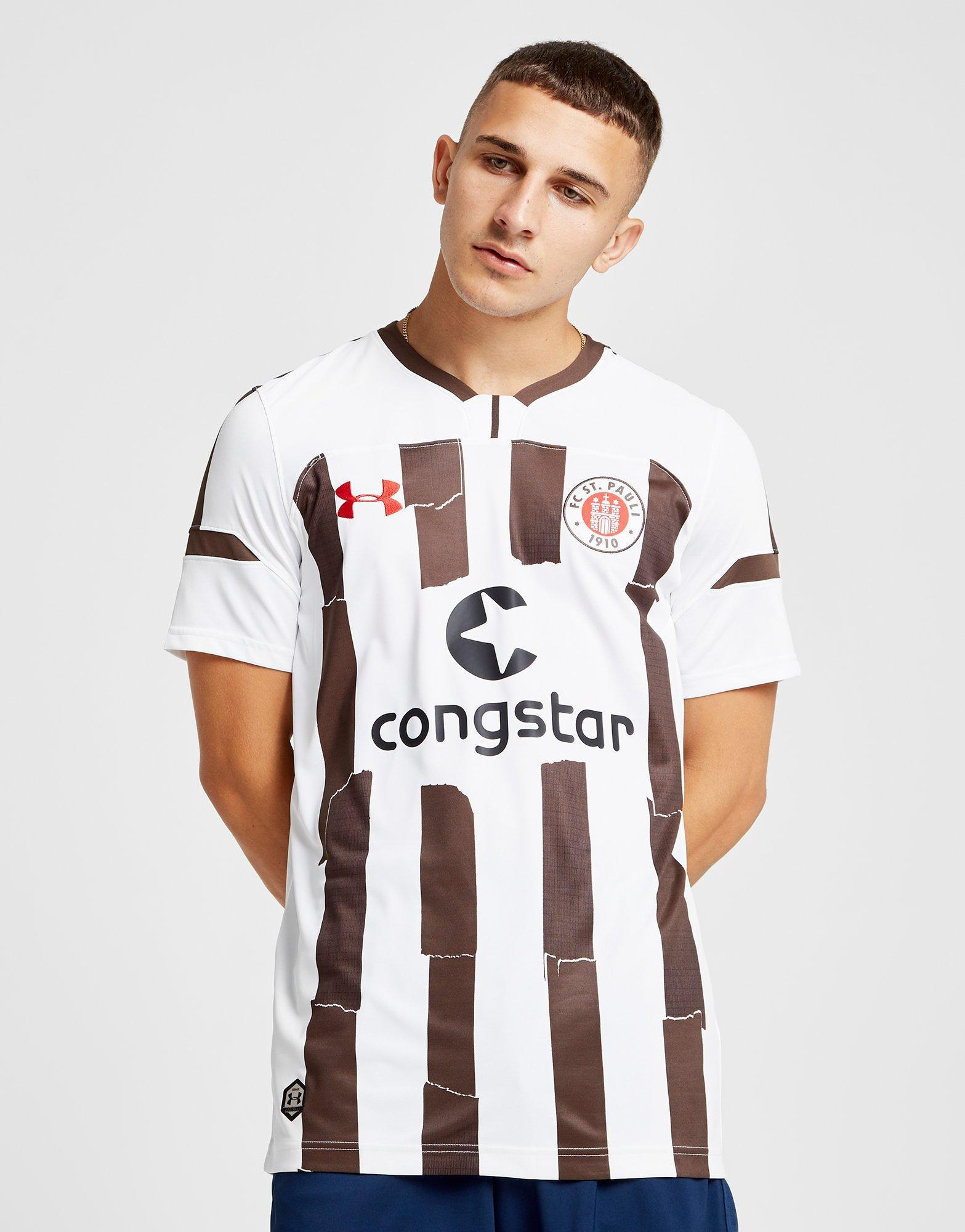 95a3edc2445 Under Armour Fc St. Pauli 2018/19 Away Shirt in White for Men - Lyst