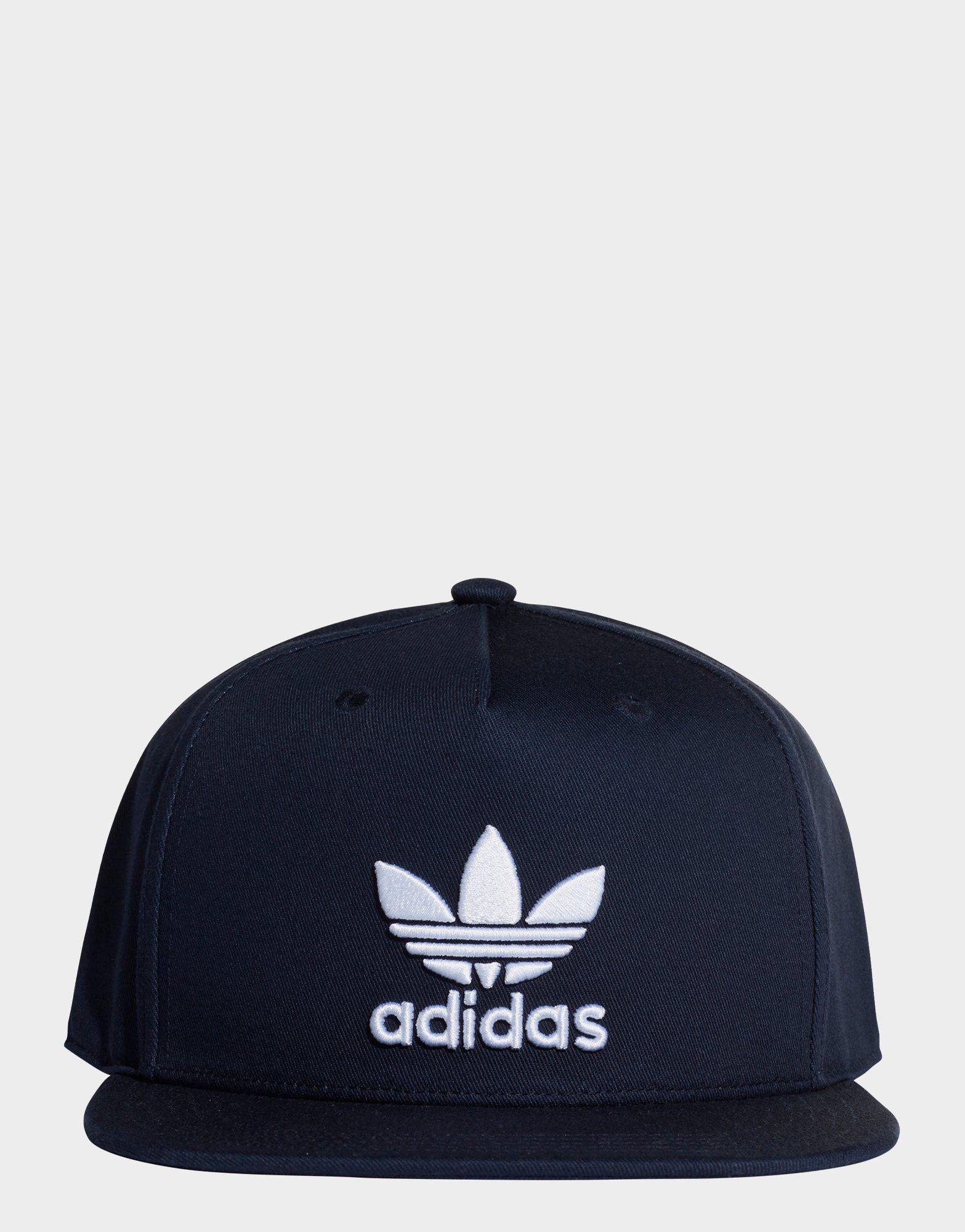 36314bd1fc4 Adidas Trefoil Snap-back Cap in Blue - Lyst