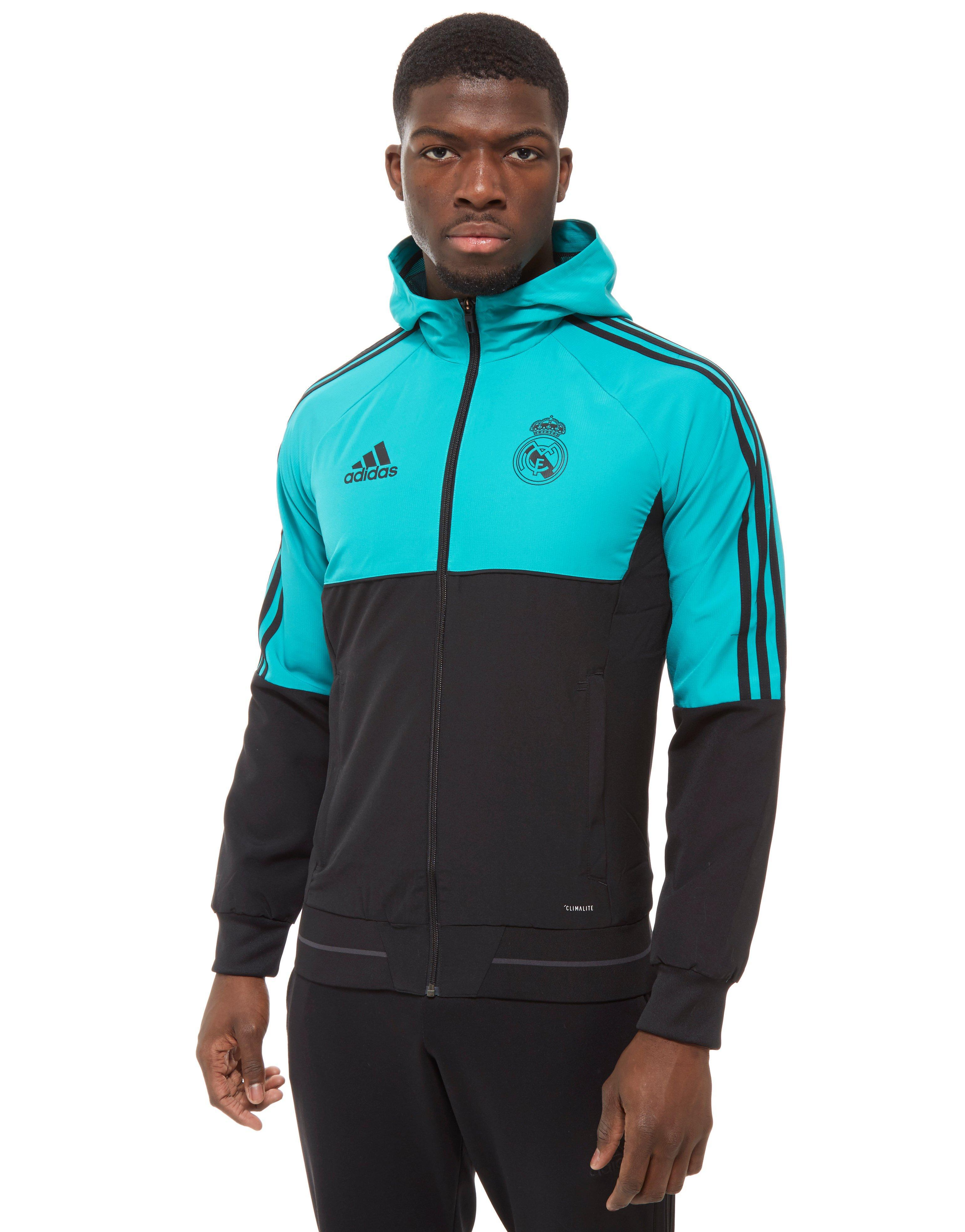 f487e11bc adidas Real Madrid Presentation Jacket in Blue for Men - Lyst