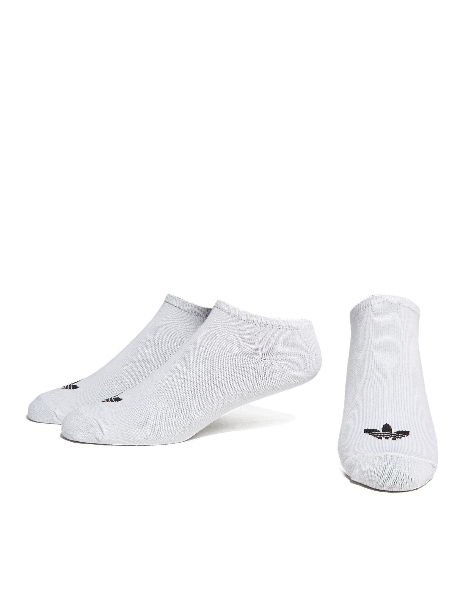 adidas trainer socks black
