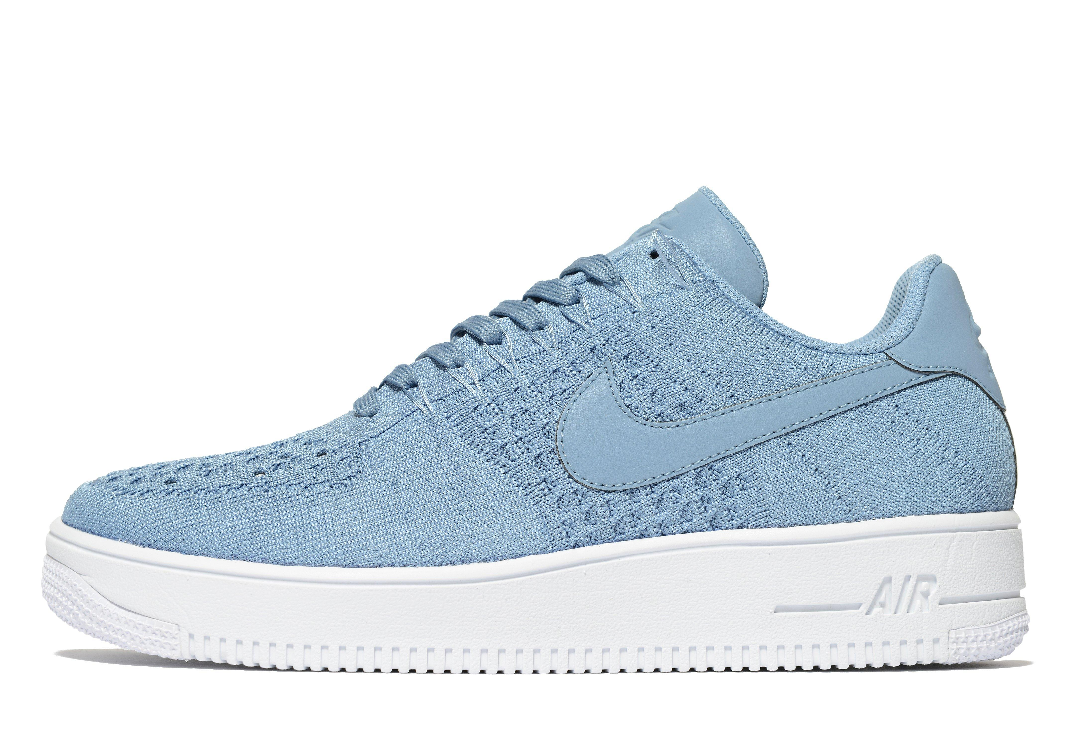 promo code 3d4af 2e6e1 Lyst - Nike Air Force 1 Flyknit in Blue for Men